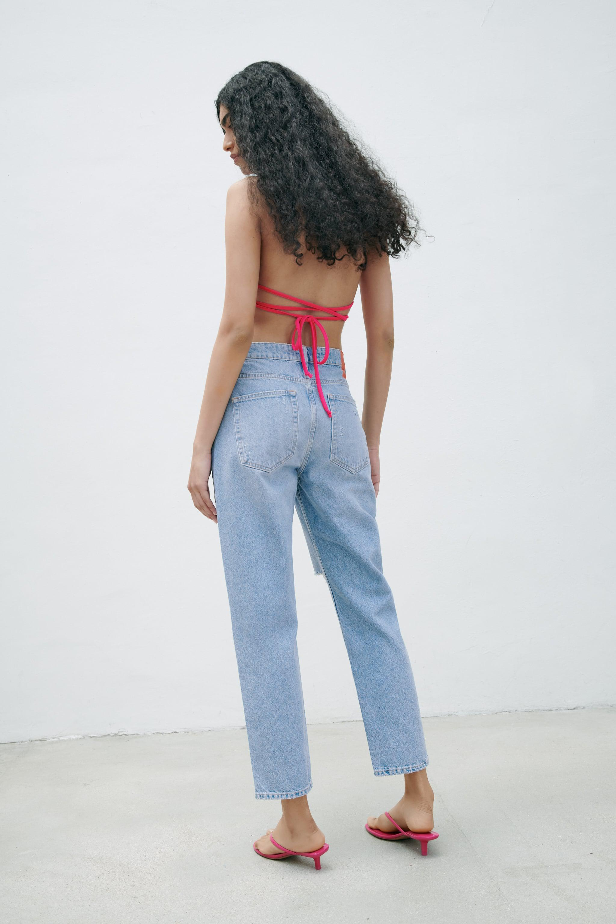 Z1975 RELAXED FIT RIPPED JEANS 5