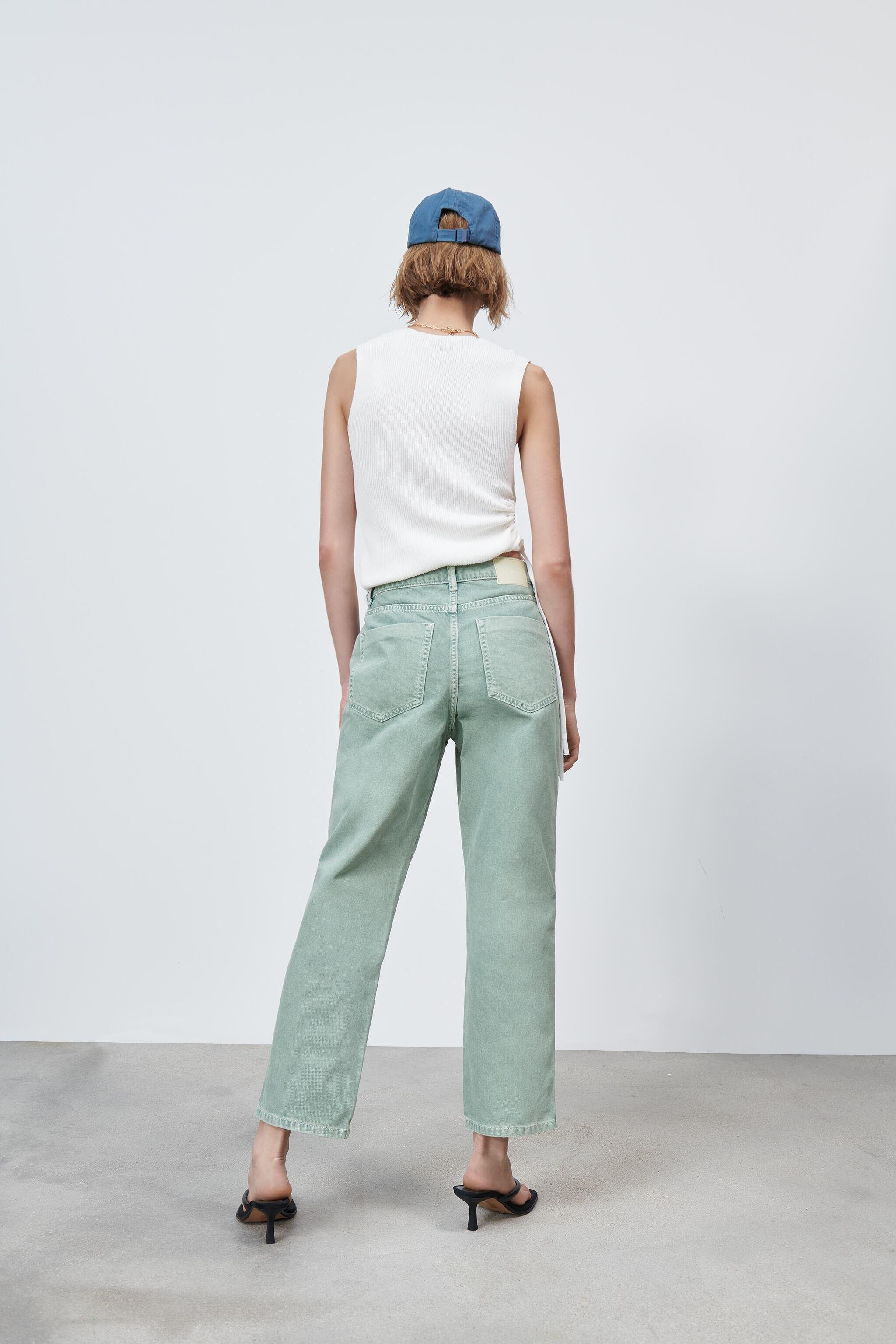 Z1975 HIGH RISE STRAIGHT JEANS 5