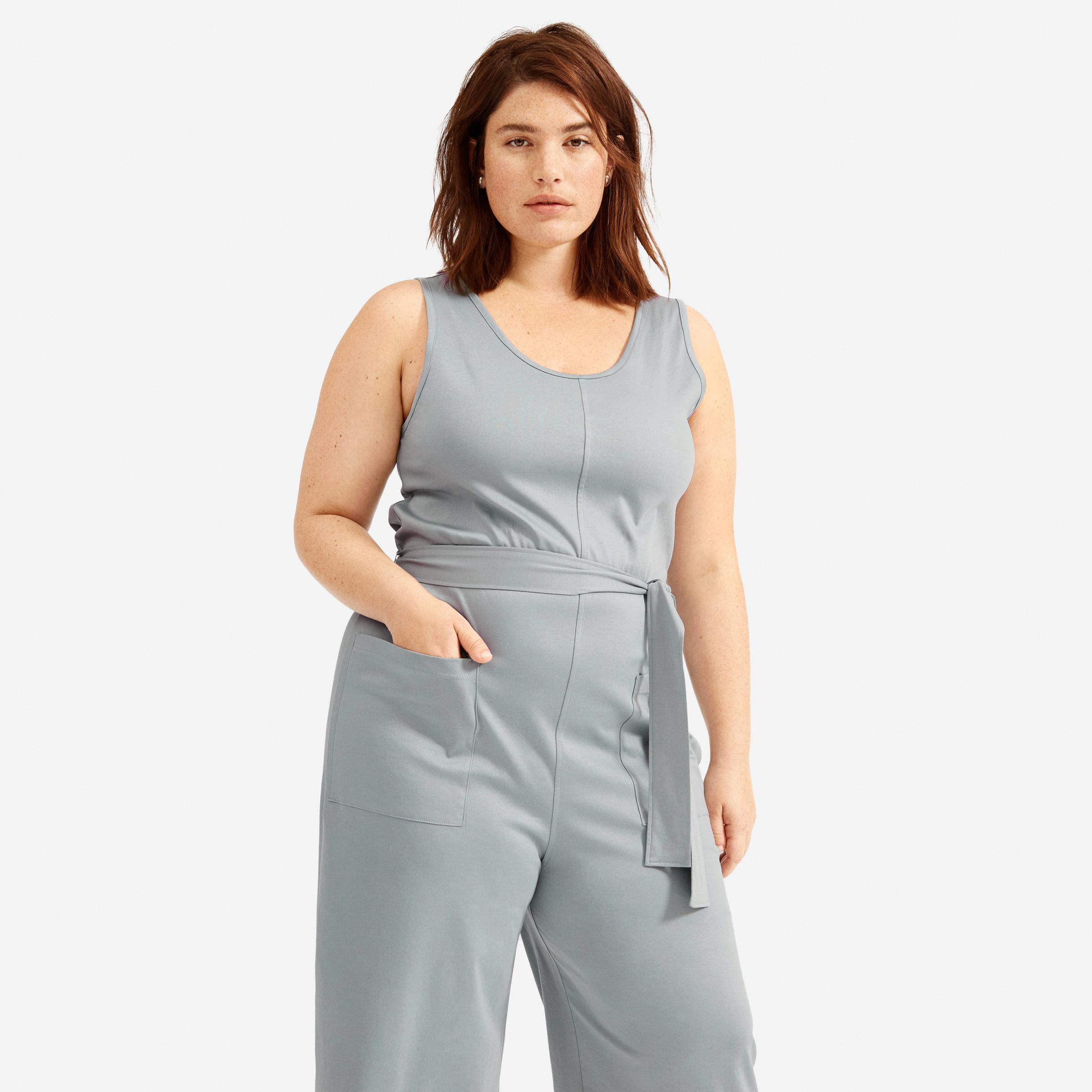 The Luxe Cotton Jumpsuit 1