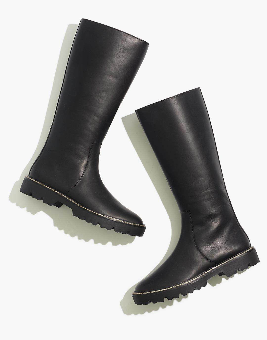 The Citywalk Lugsole Tall Boot in Leather
