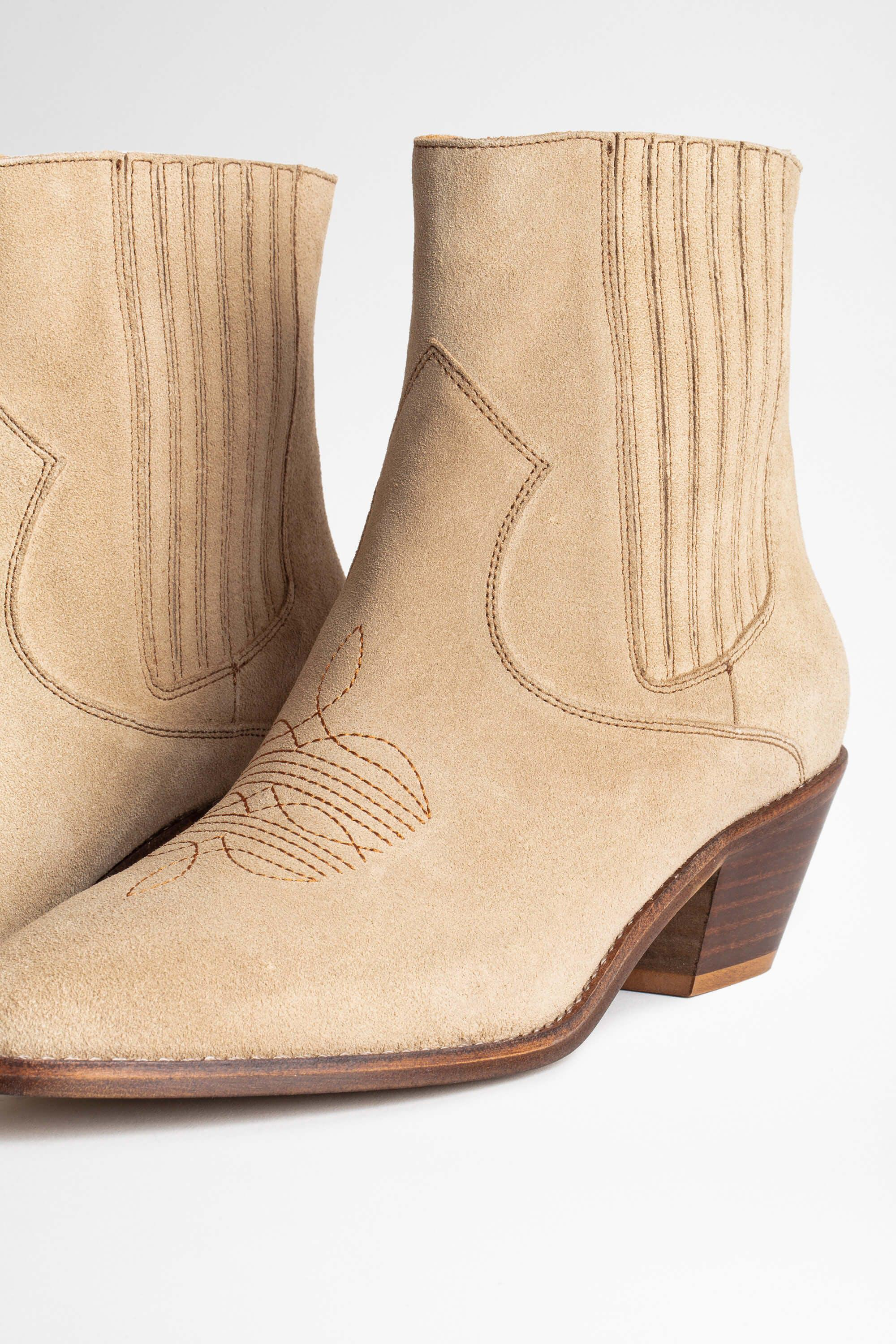 Tyler Suede Ankle Boots 2