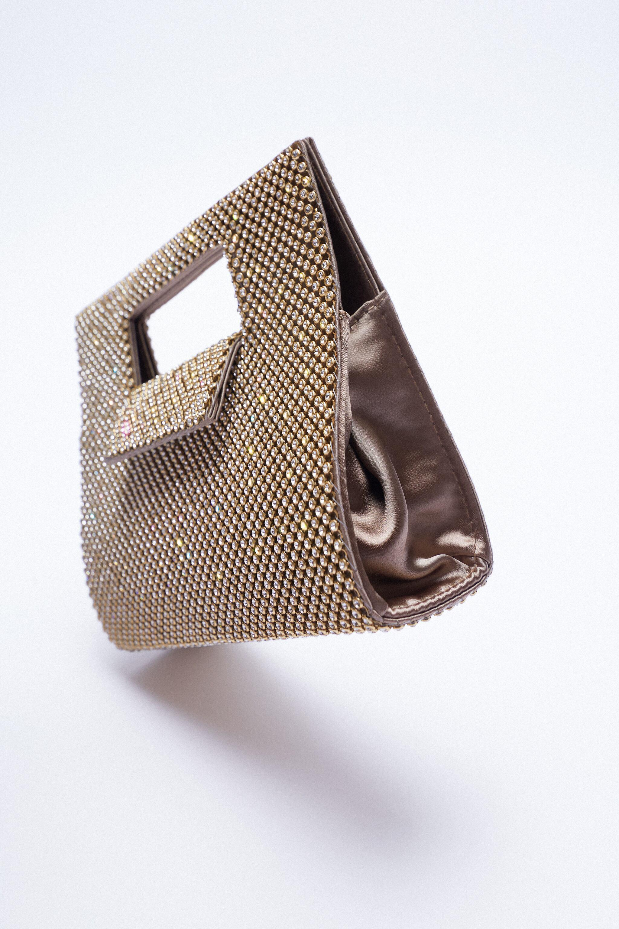 CUT OUT SHIMMERY BOX BAG 1