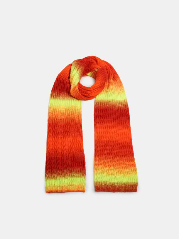 April scarf in shaded wool