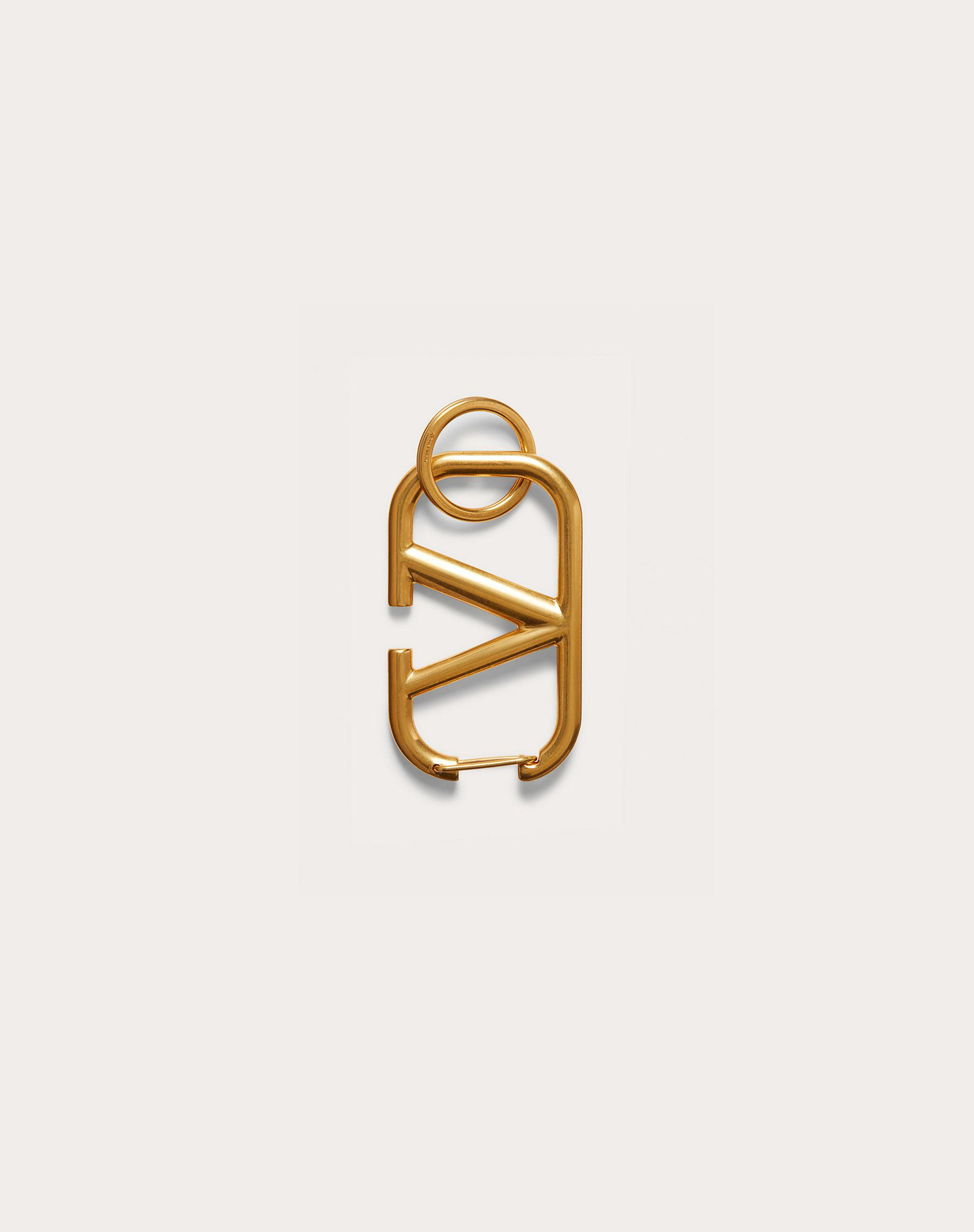 VLOGO SIGNATURE KEYCHAIN IN LACQUERED METAL 3