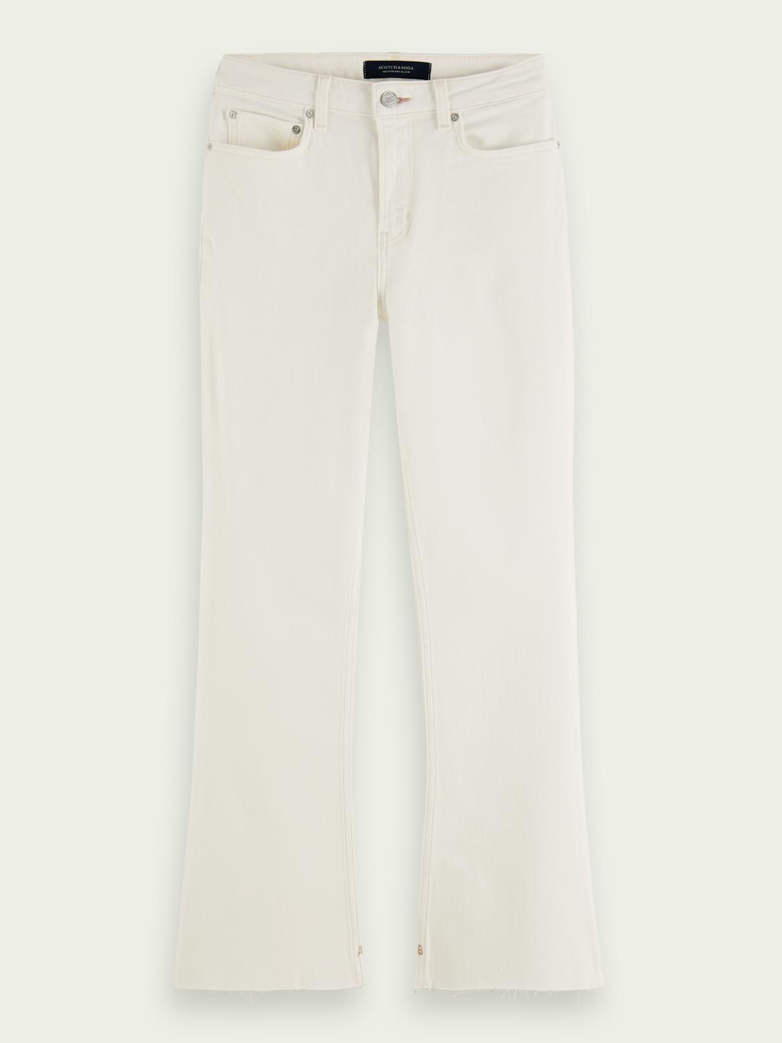 The Kick flared jeans — Summer White 6
