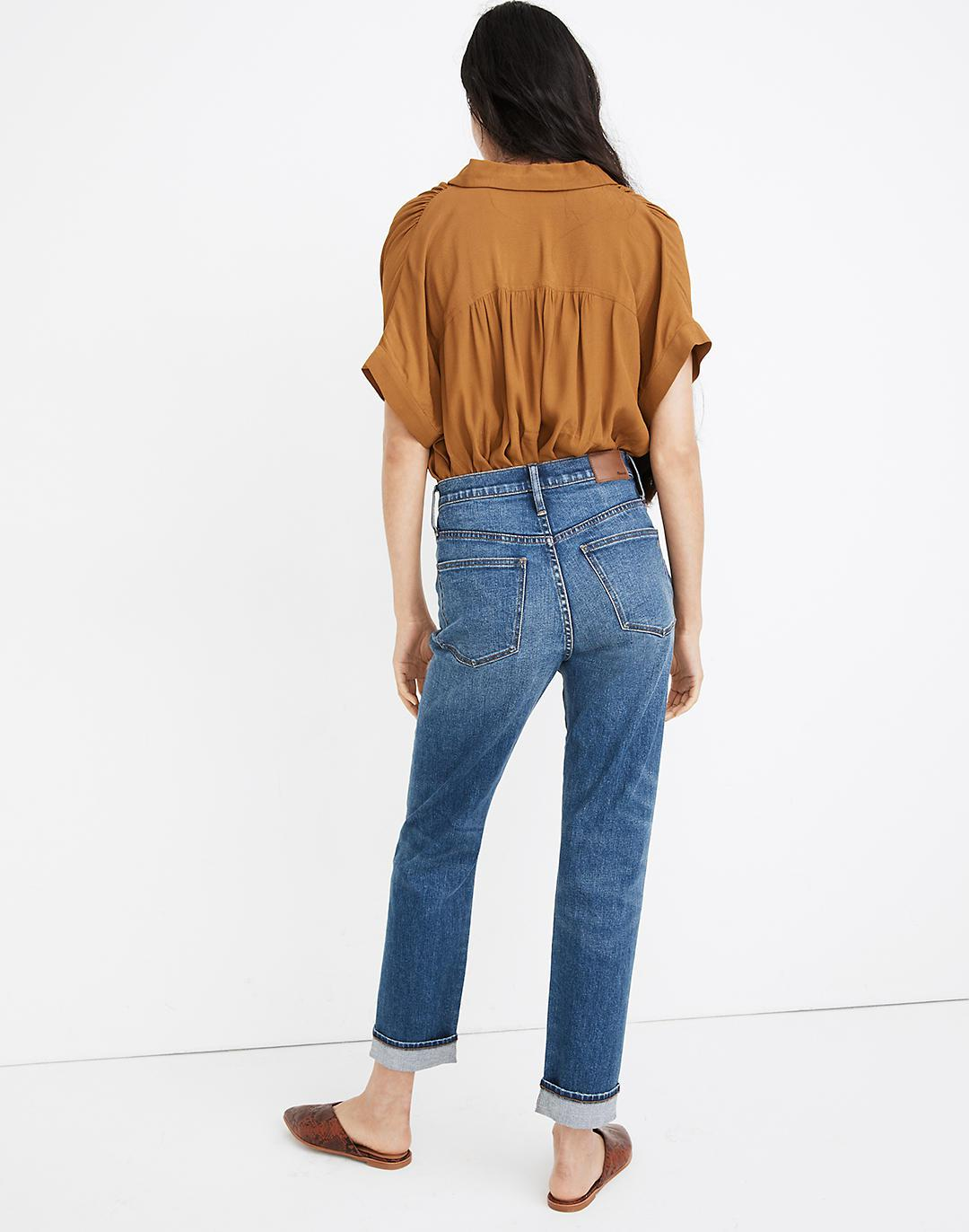 Tall Classic Straight Jeans in Ives Wash: Selvedge Edition 2