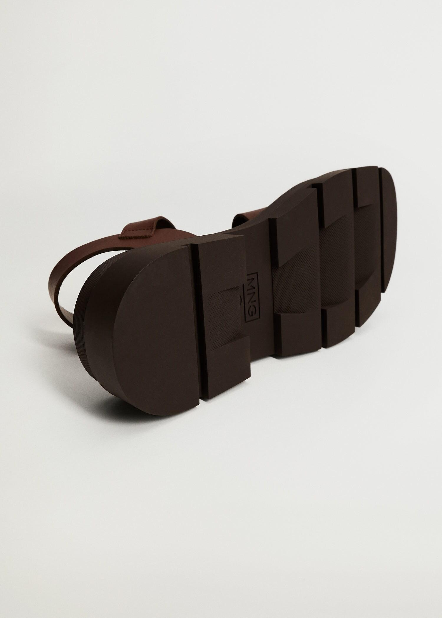 Leather straps sandals 5