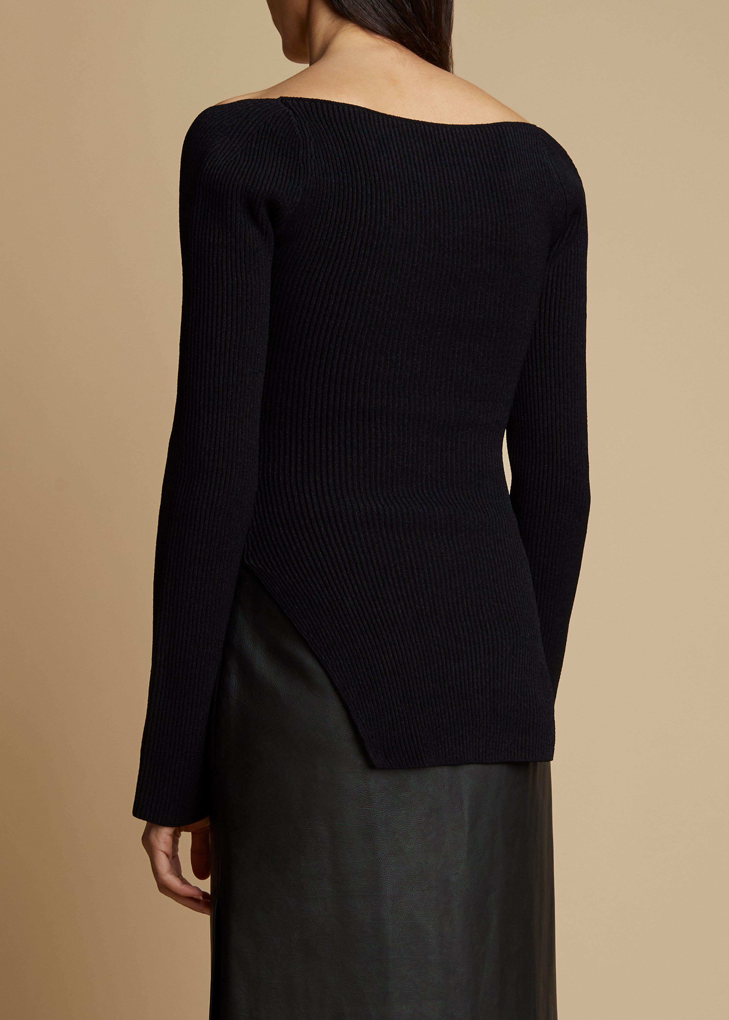 The Maddy Top in Black 3