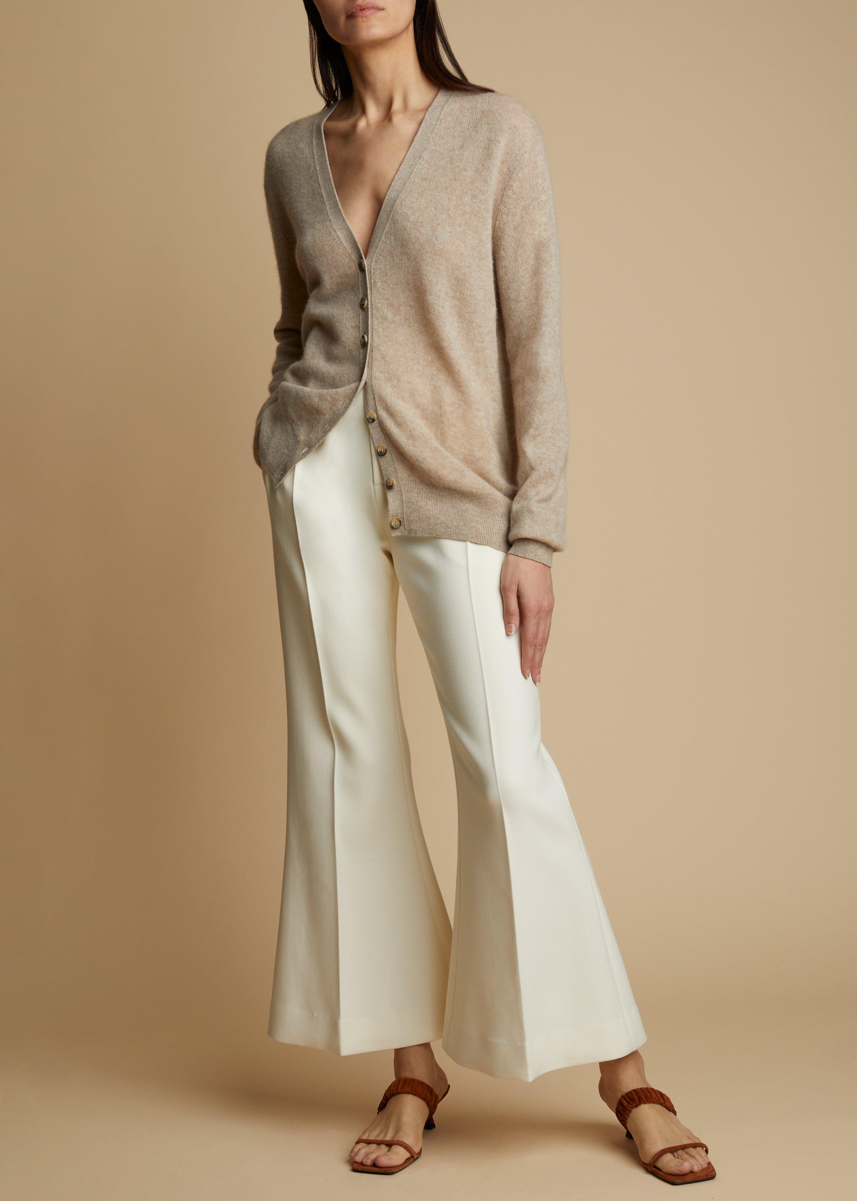 The Hattie Pant in Ivory