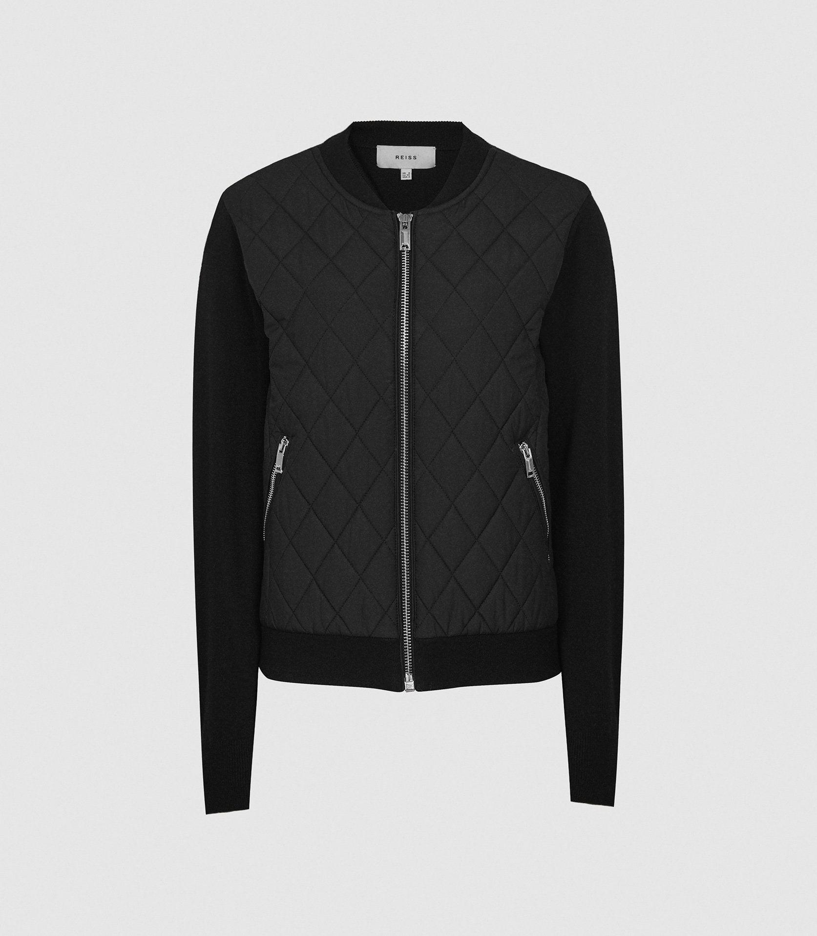 AYLA - HYBRID ZIP THROUGH QUILTED JUMPER 4