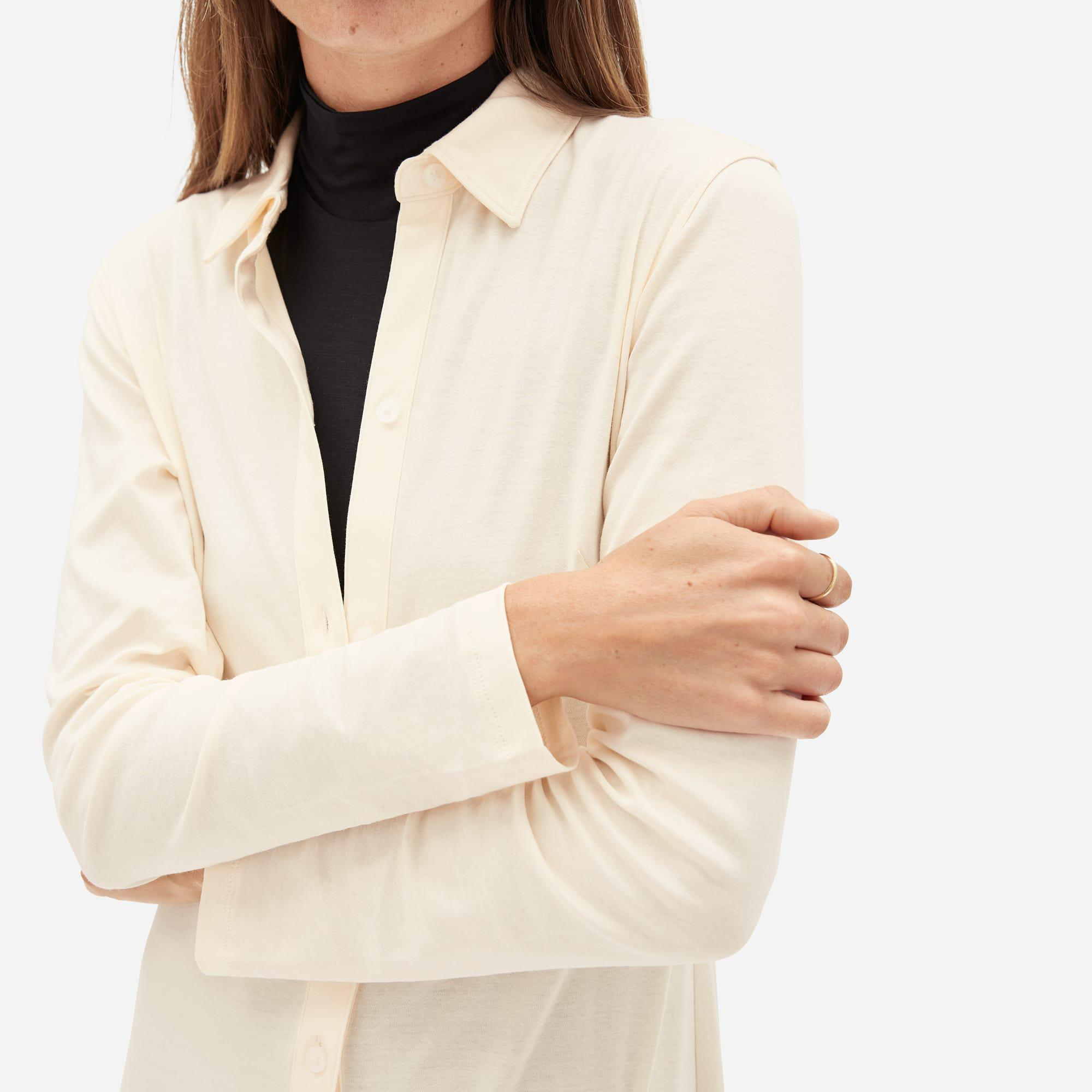 The Luxe Cotton Shirtdress 2