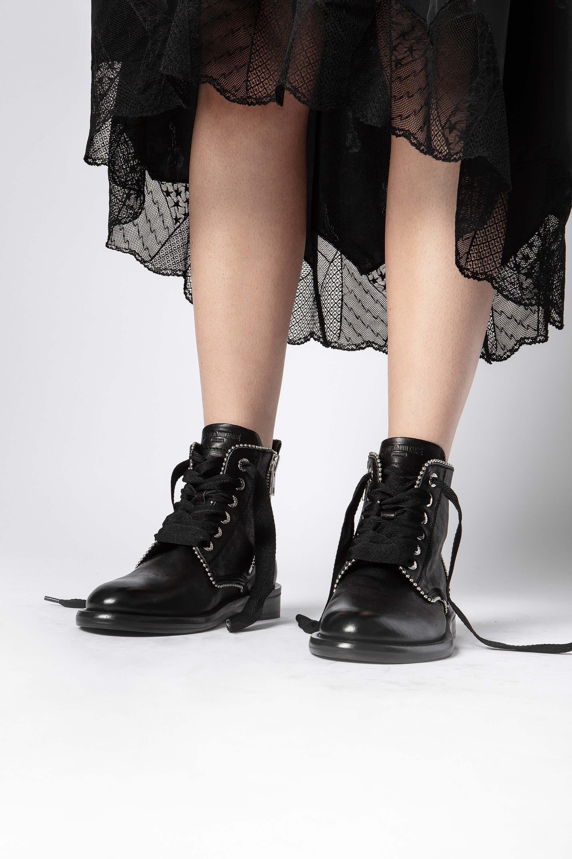 Laureen Roma Studs Ankle Boots 5