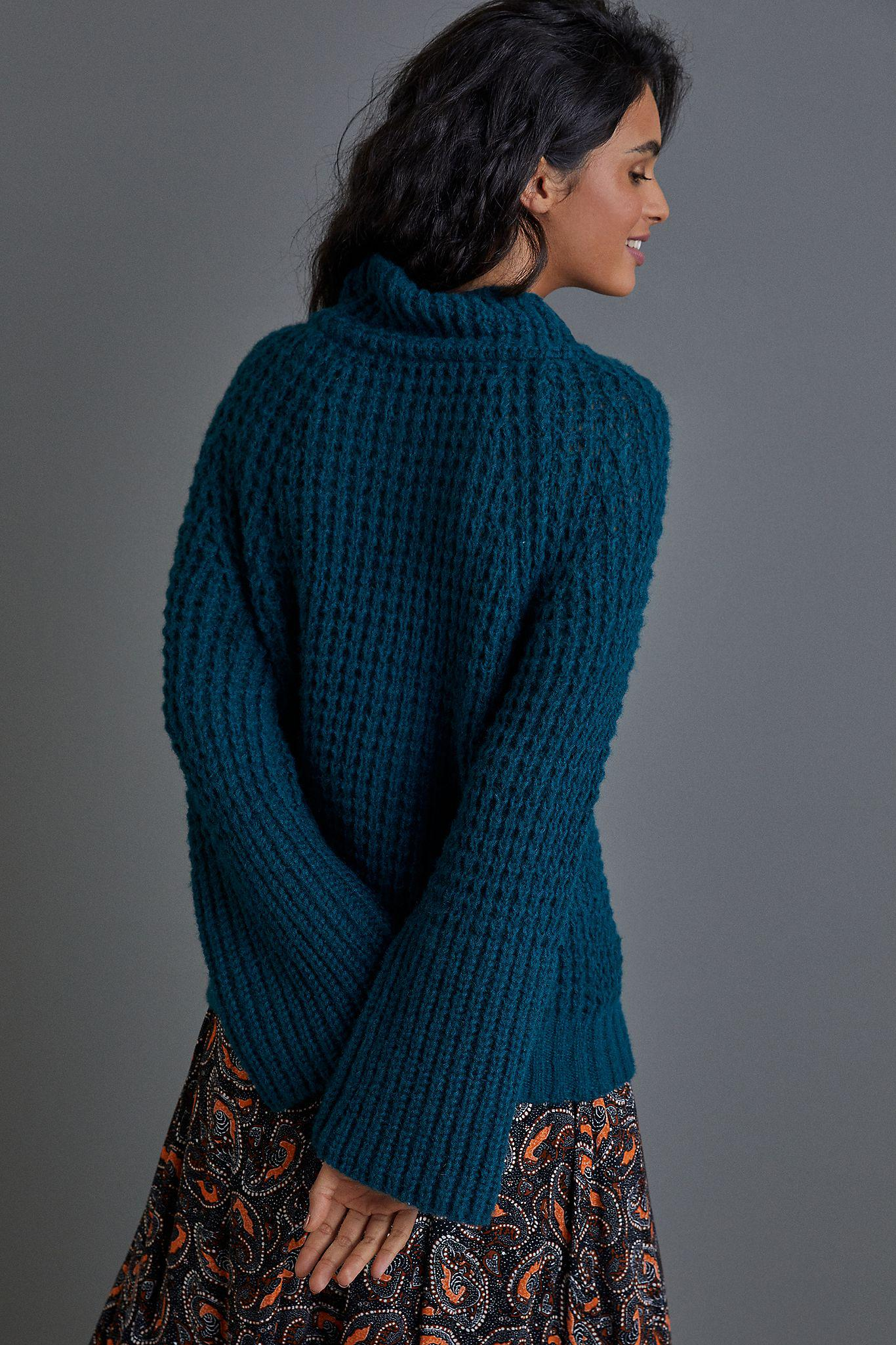 Maeve Dionne Bell-Sleeved Sweater 2