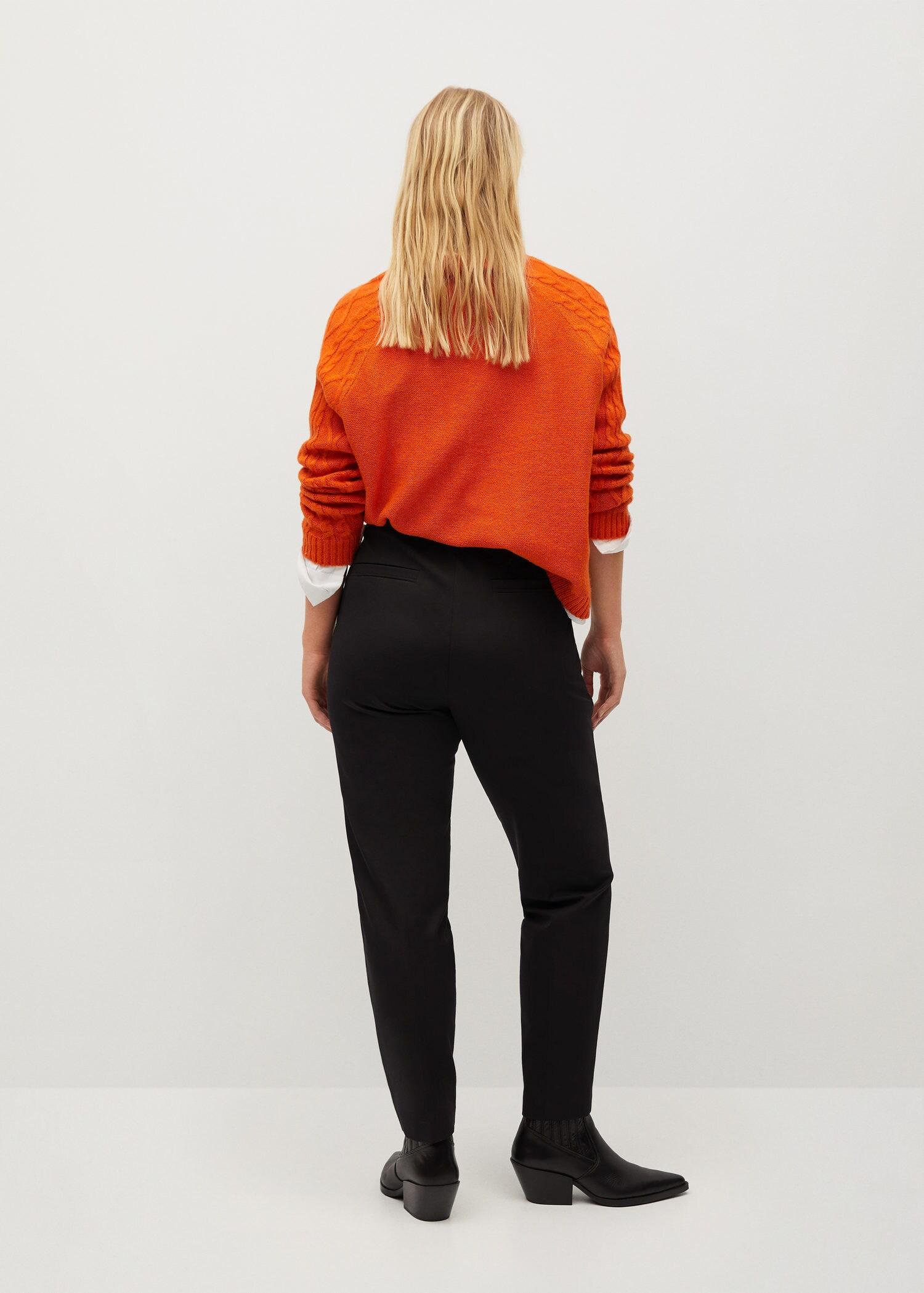 Side buttons pants 2