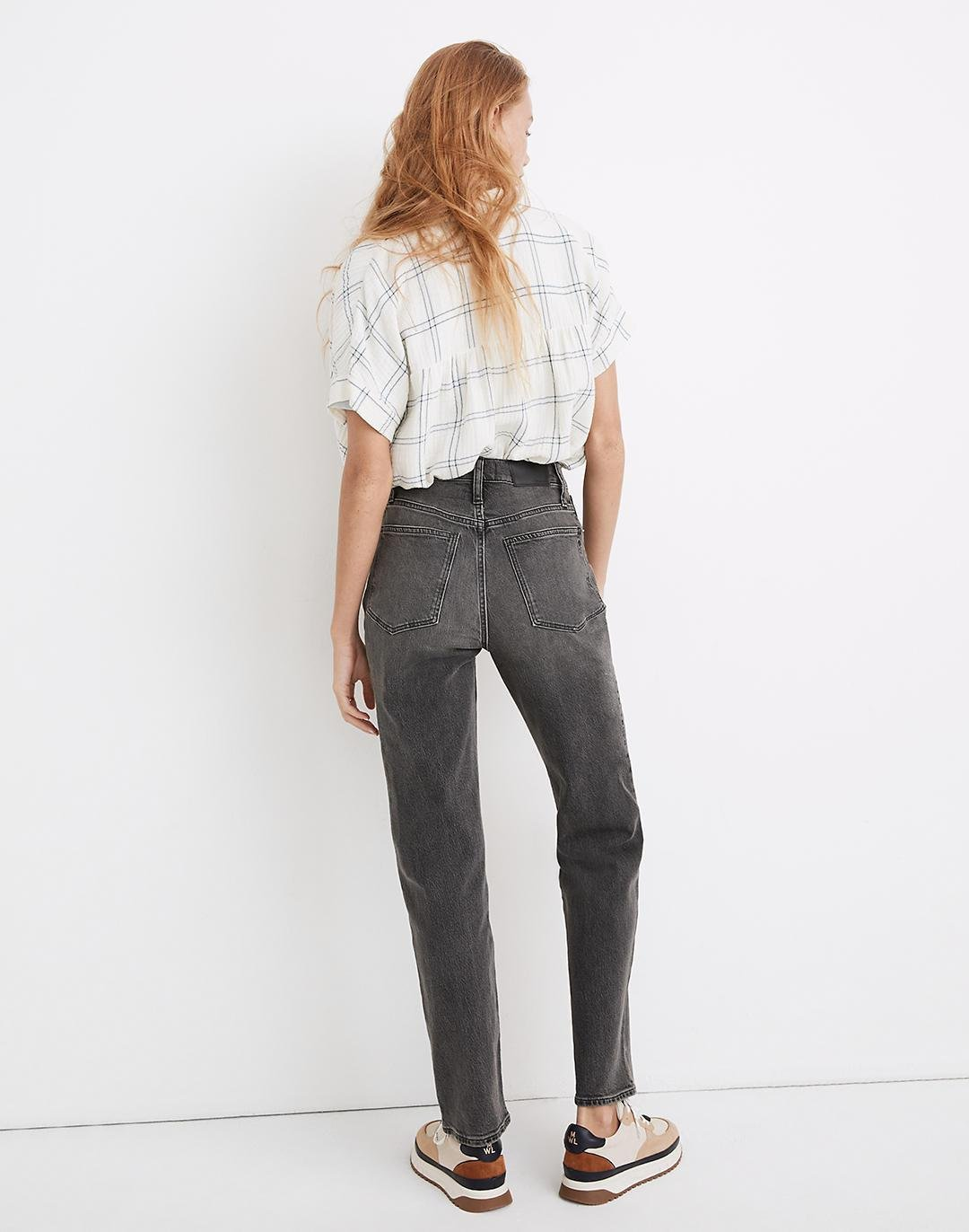 The Tall Perfect Vintage Straight Jean in Cosner Wash