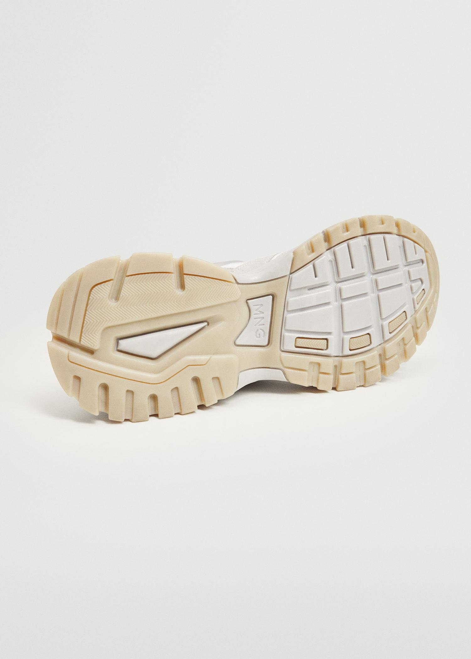 Track sole sneakers 5