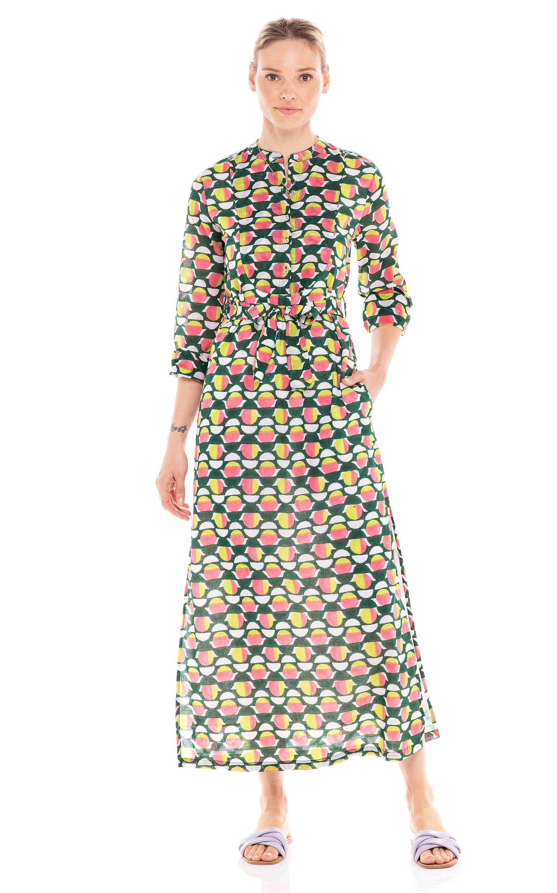 Crystal Dress Curlew Curve Lime Green 4