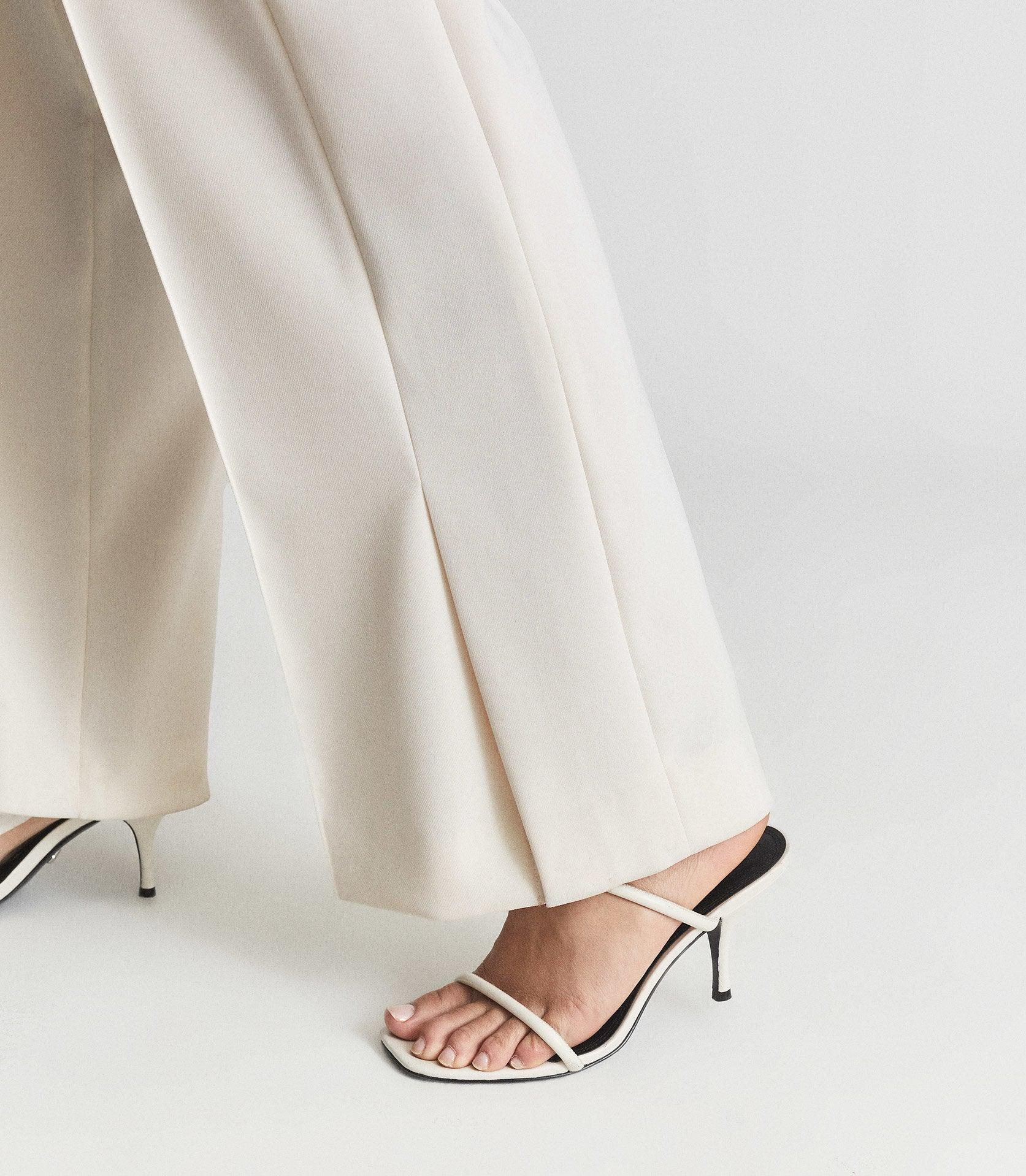 LEAH - WIDE LEG TAILORED TROUSERS 2