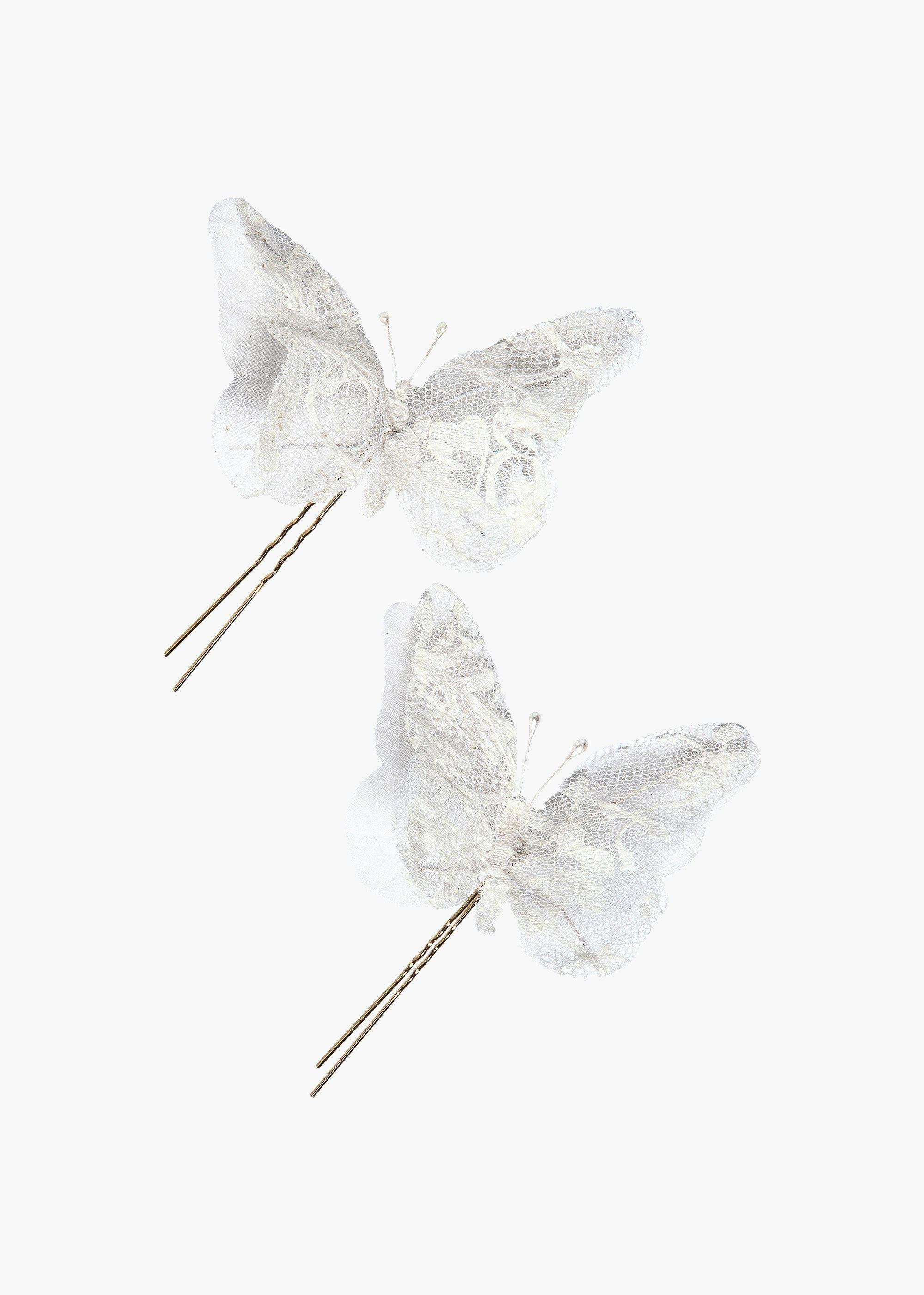 Loredes Butterfly Hairpins - Set of 2