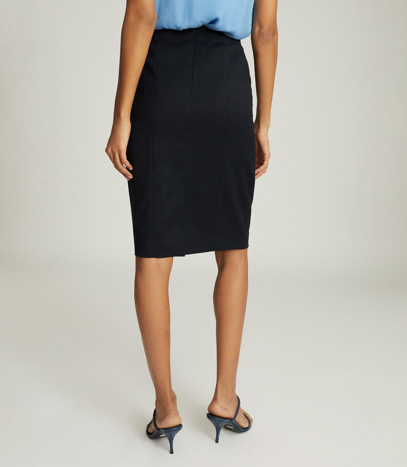 HAYES - TAILORED PENCIL SKIRT 2