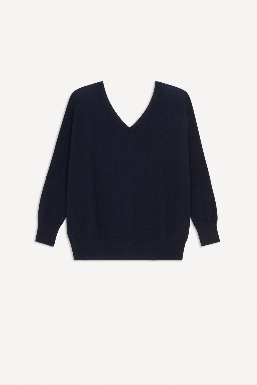 elsy.BACKLESS SWEATER 3