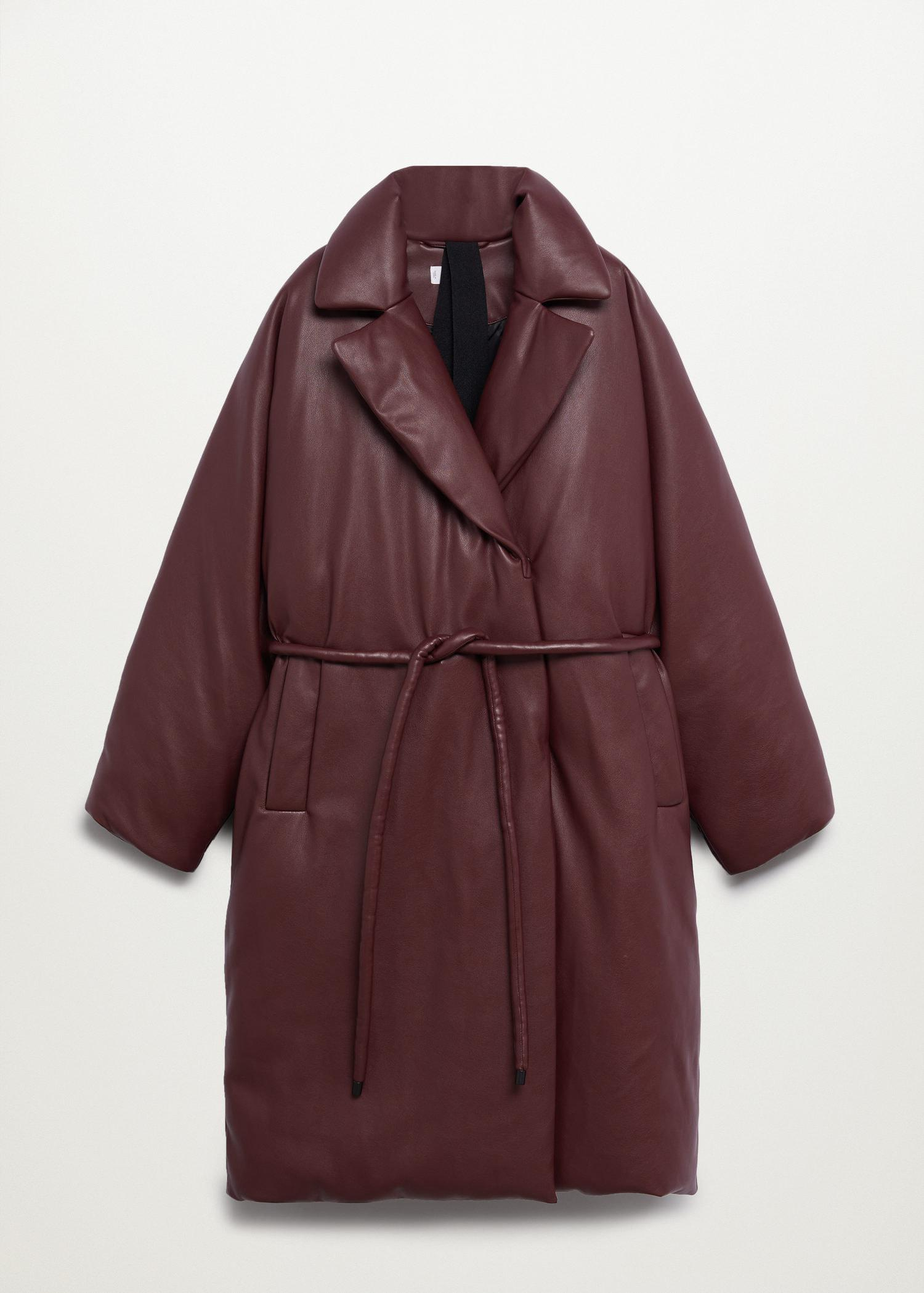 Oversize quilted coat 11