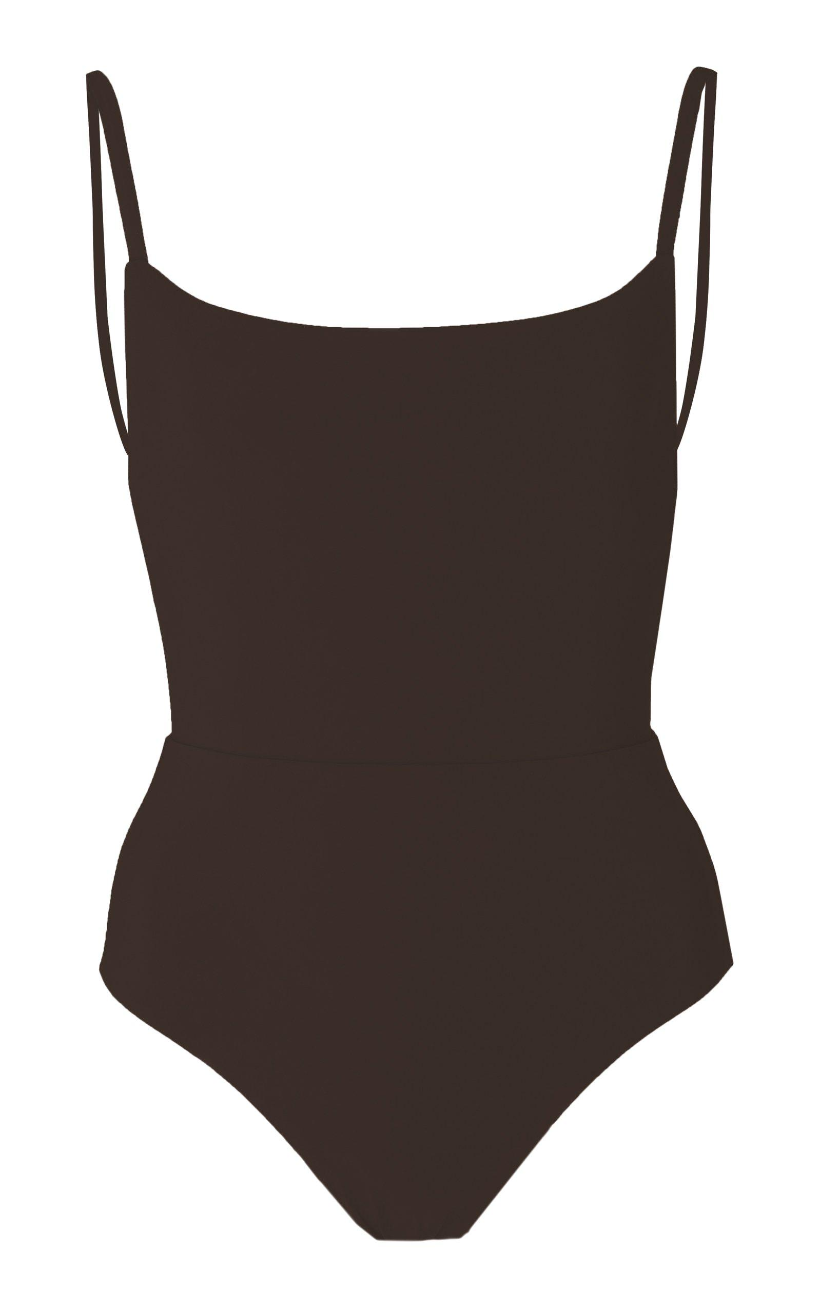 The Square Neck Open Back One-Piece