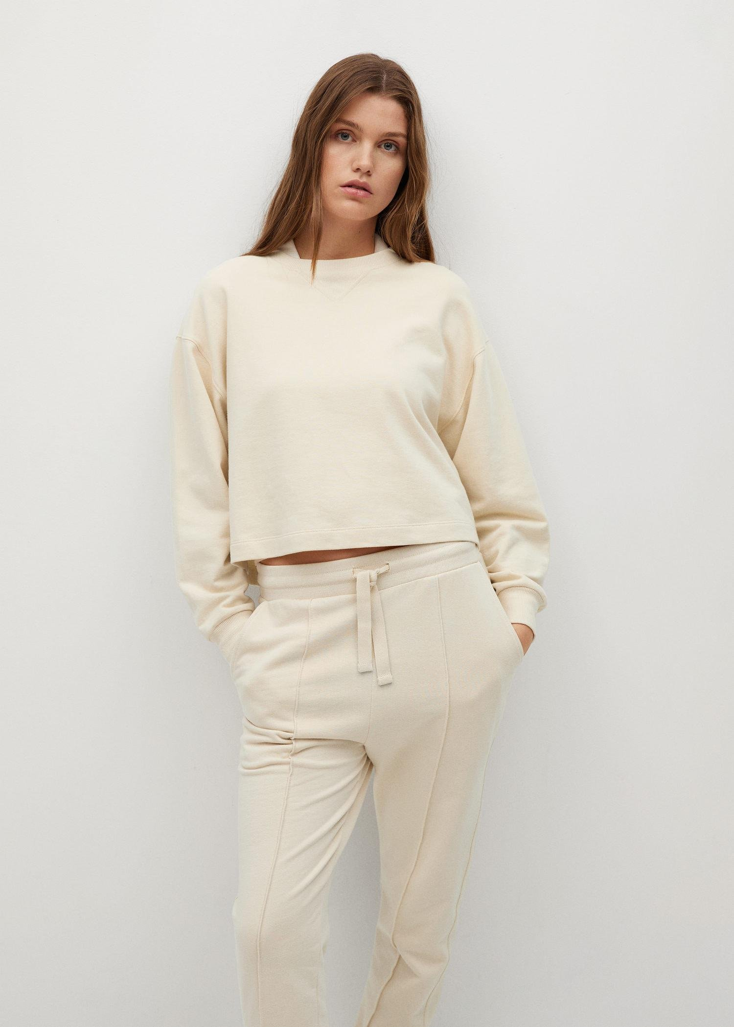 Sustainable cotton jogger pants 5