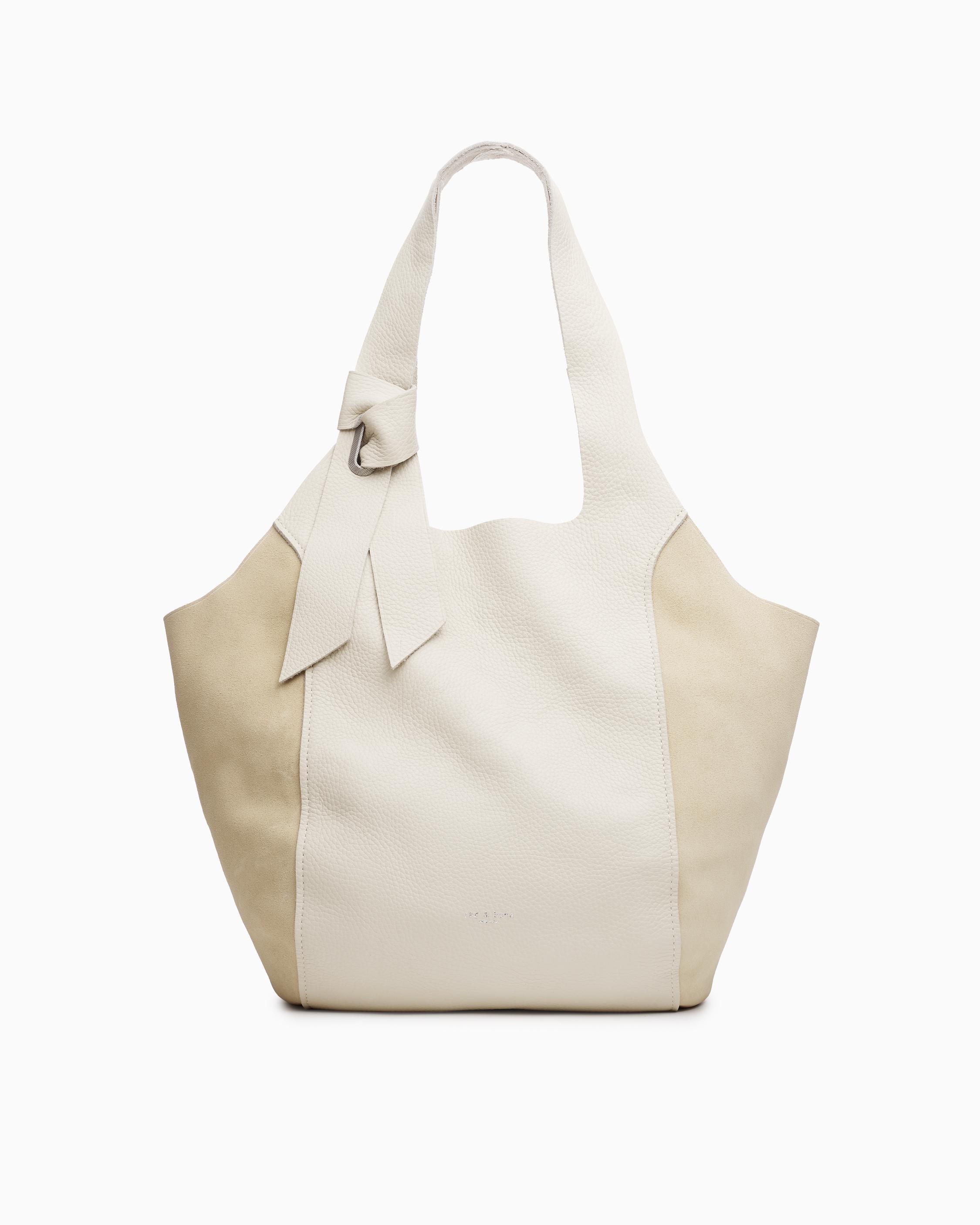 Grand shopper - pebbled leather
