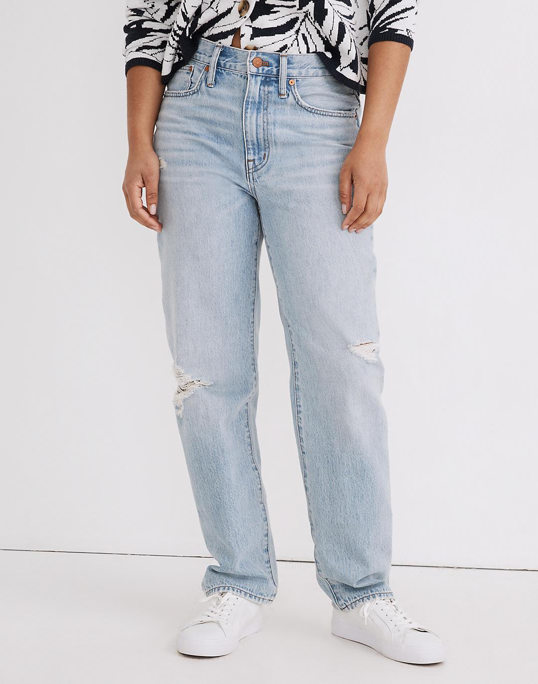 Relaxed Jeans in Cresthaven Wash: Ripped Edition 3