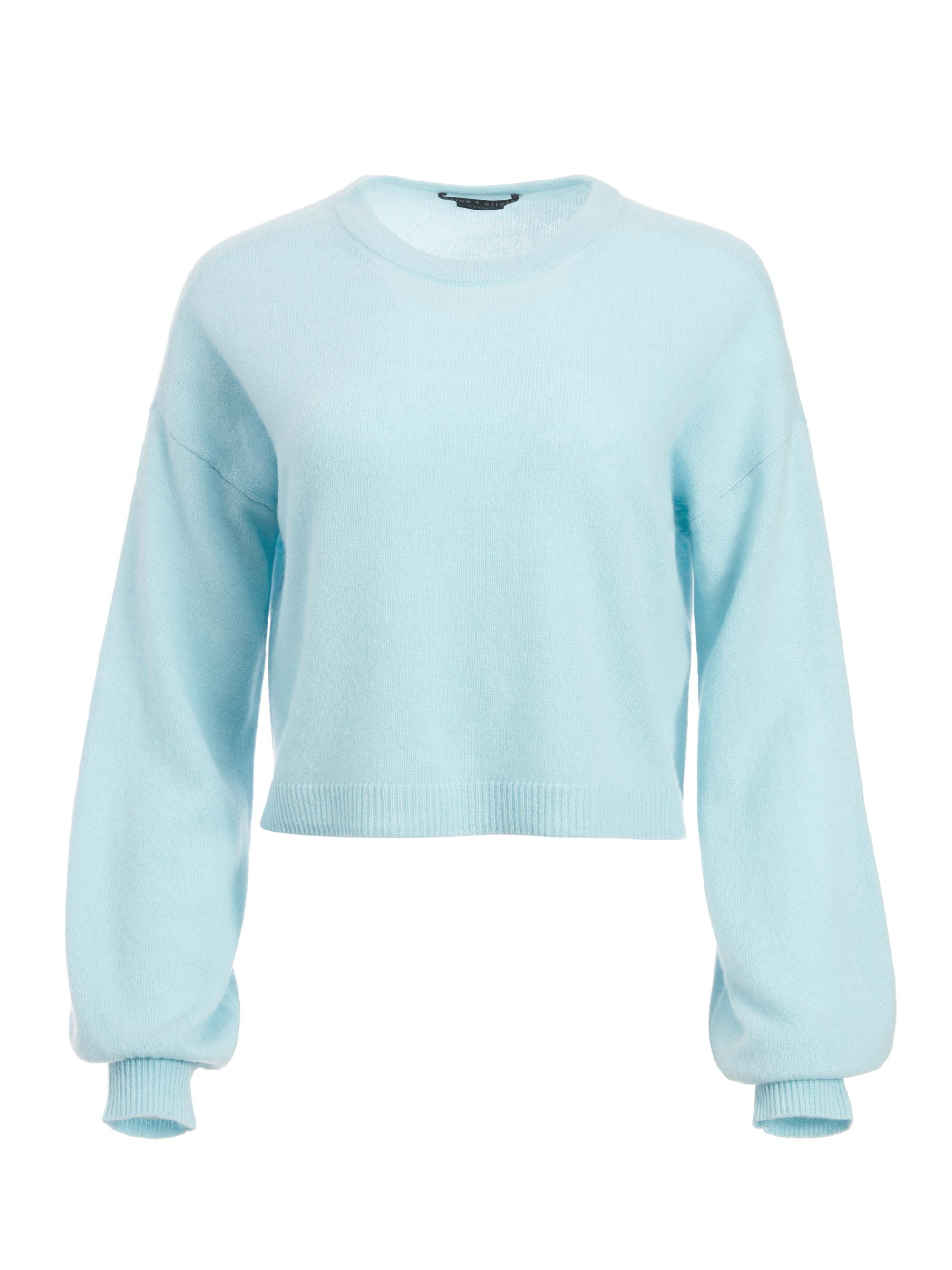 ANSLEY WIDE SLEEVE CROPPED SWEATER 5