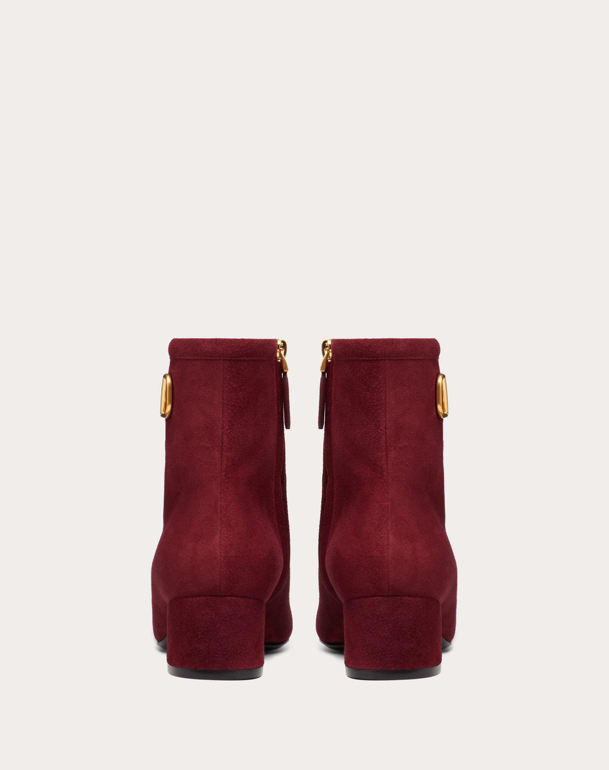 VLogo Signature Suede Ankle Boot 45 mm / 1.8 in. 2