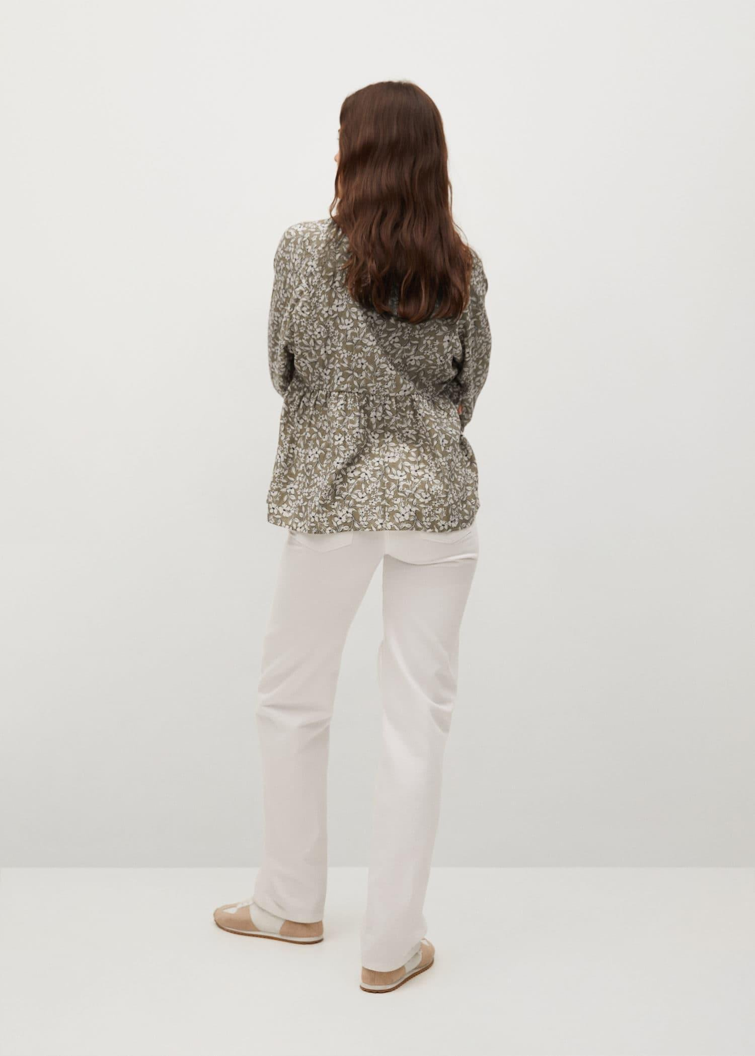 Pleated details blouse 2
