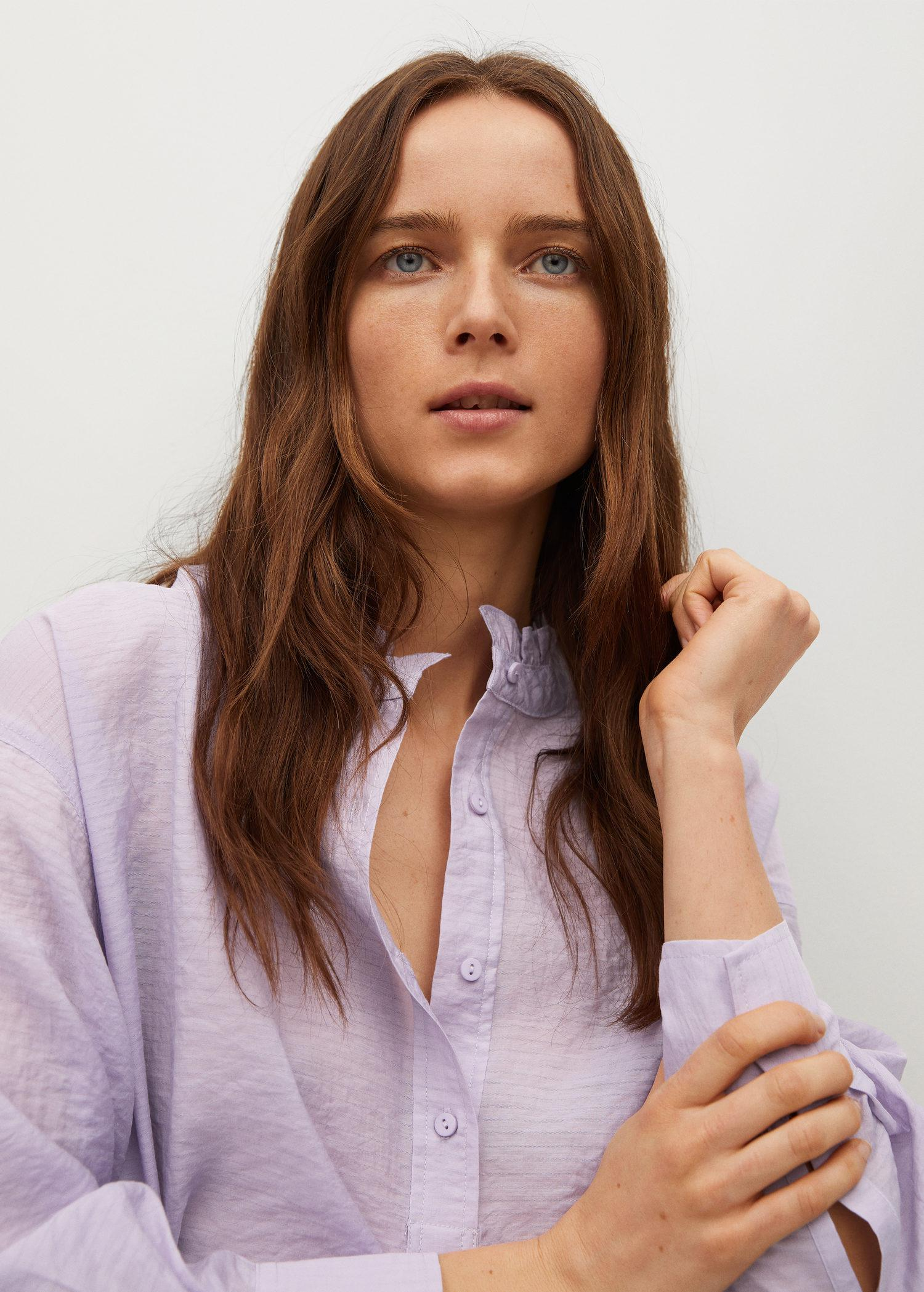 Textured flowy blouse 5
