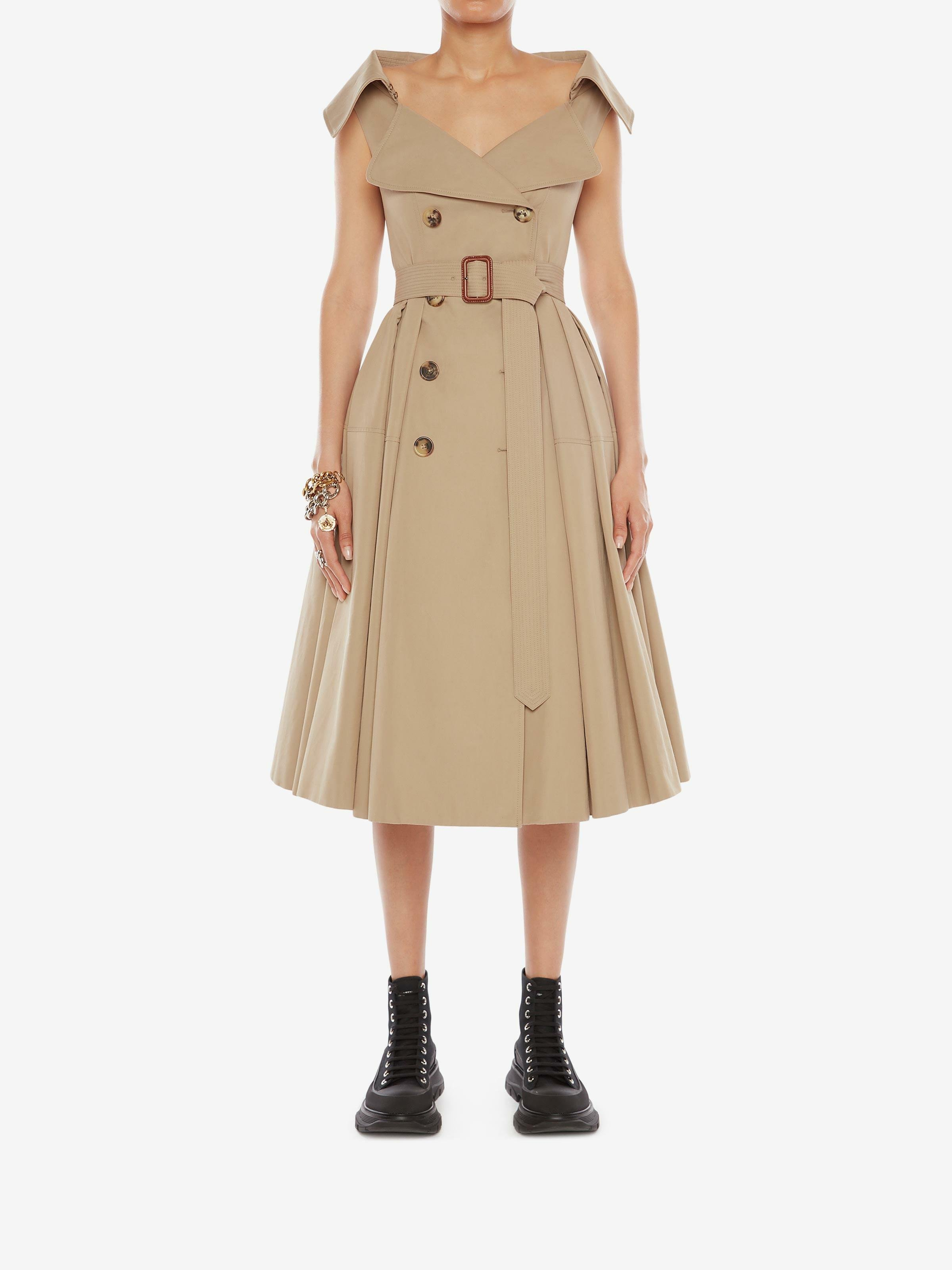 Exploded Trench Dress