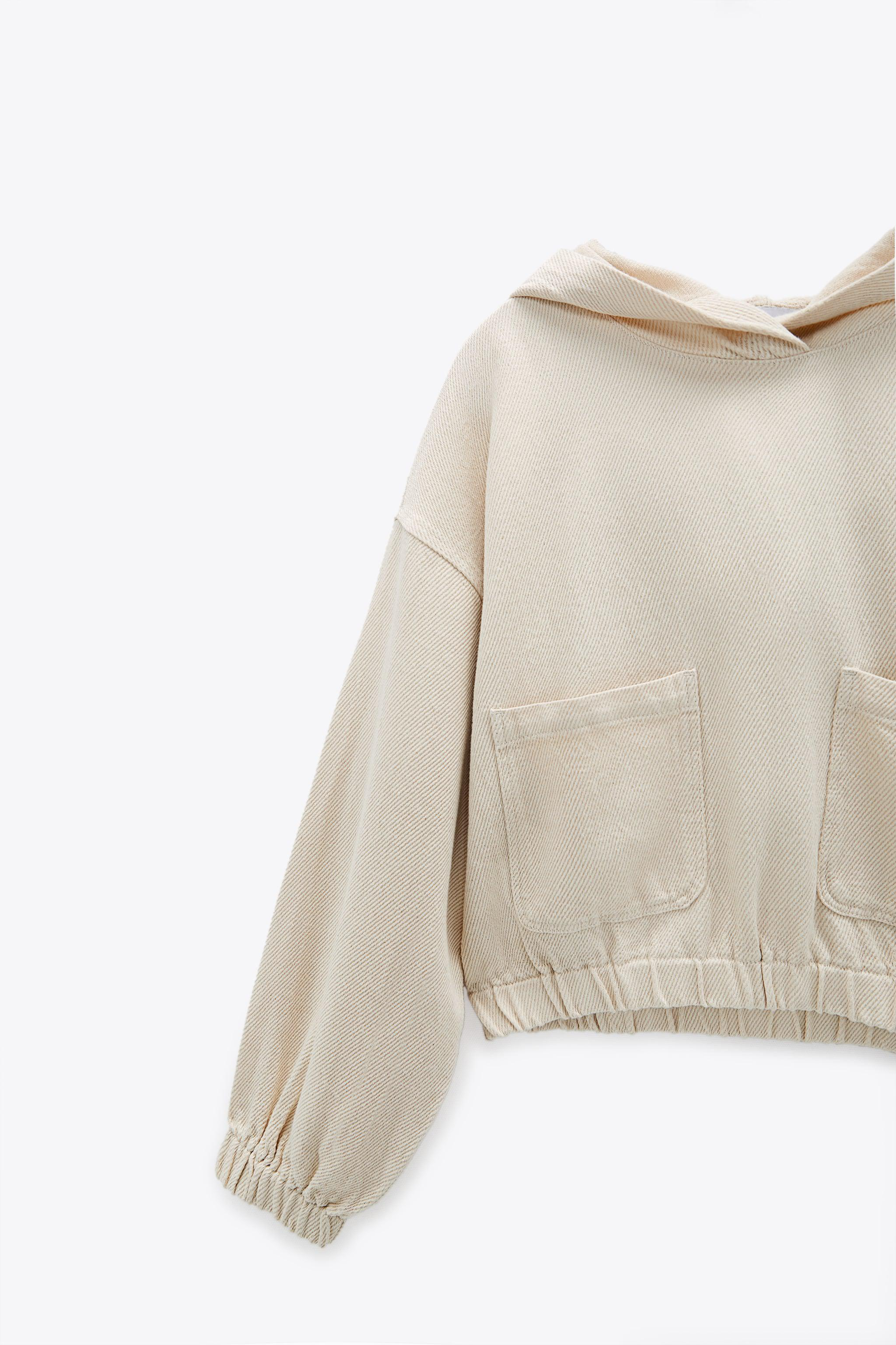 HOODED TWILL TOP 10