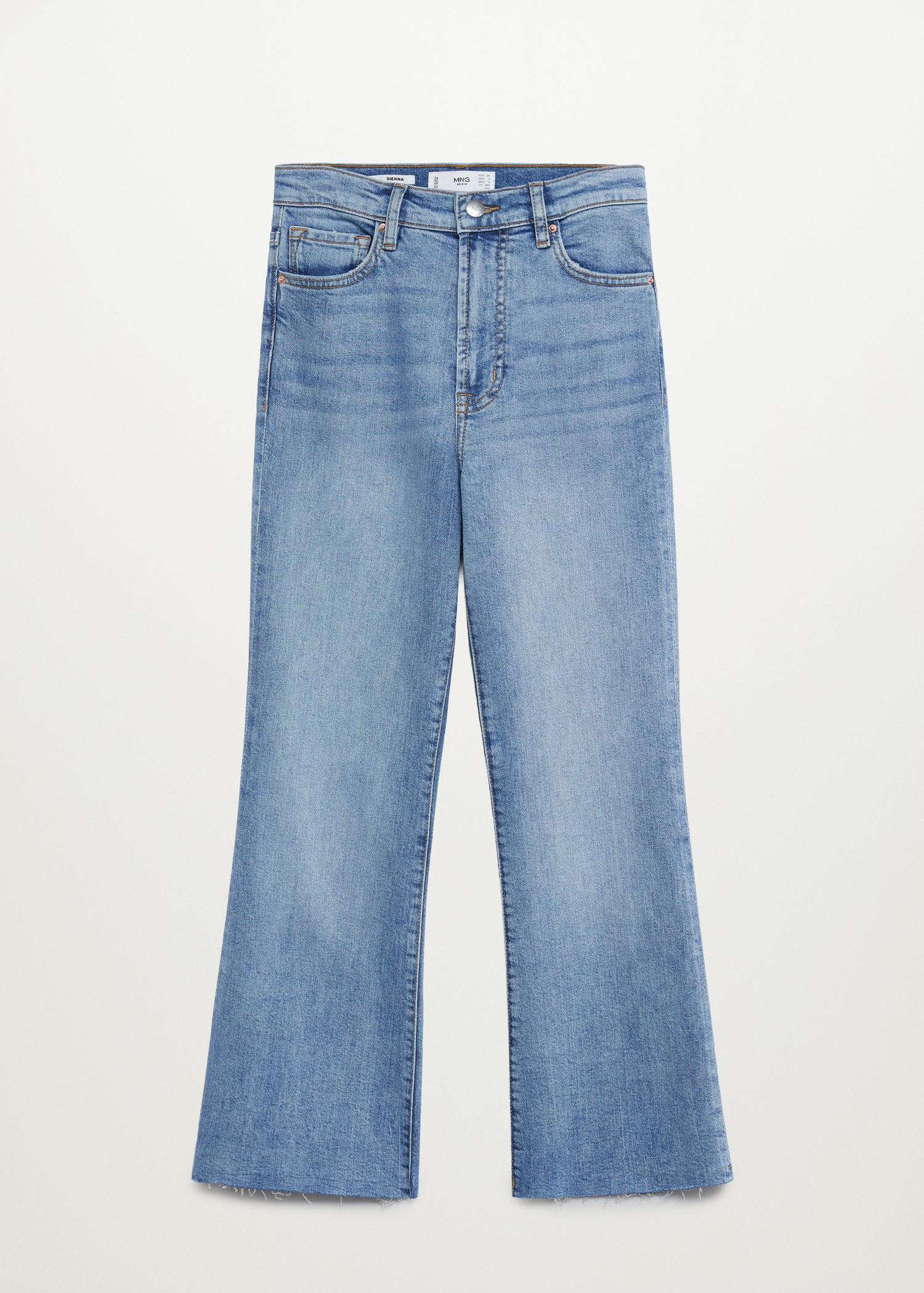 Crop flared jeans 7