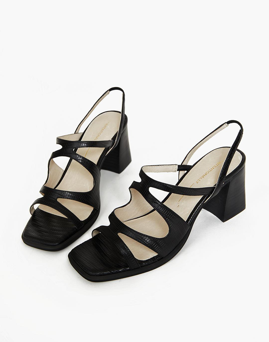 INTENTIONALLY BLANK If Black Sandals