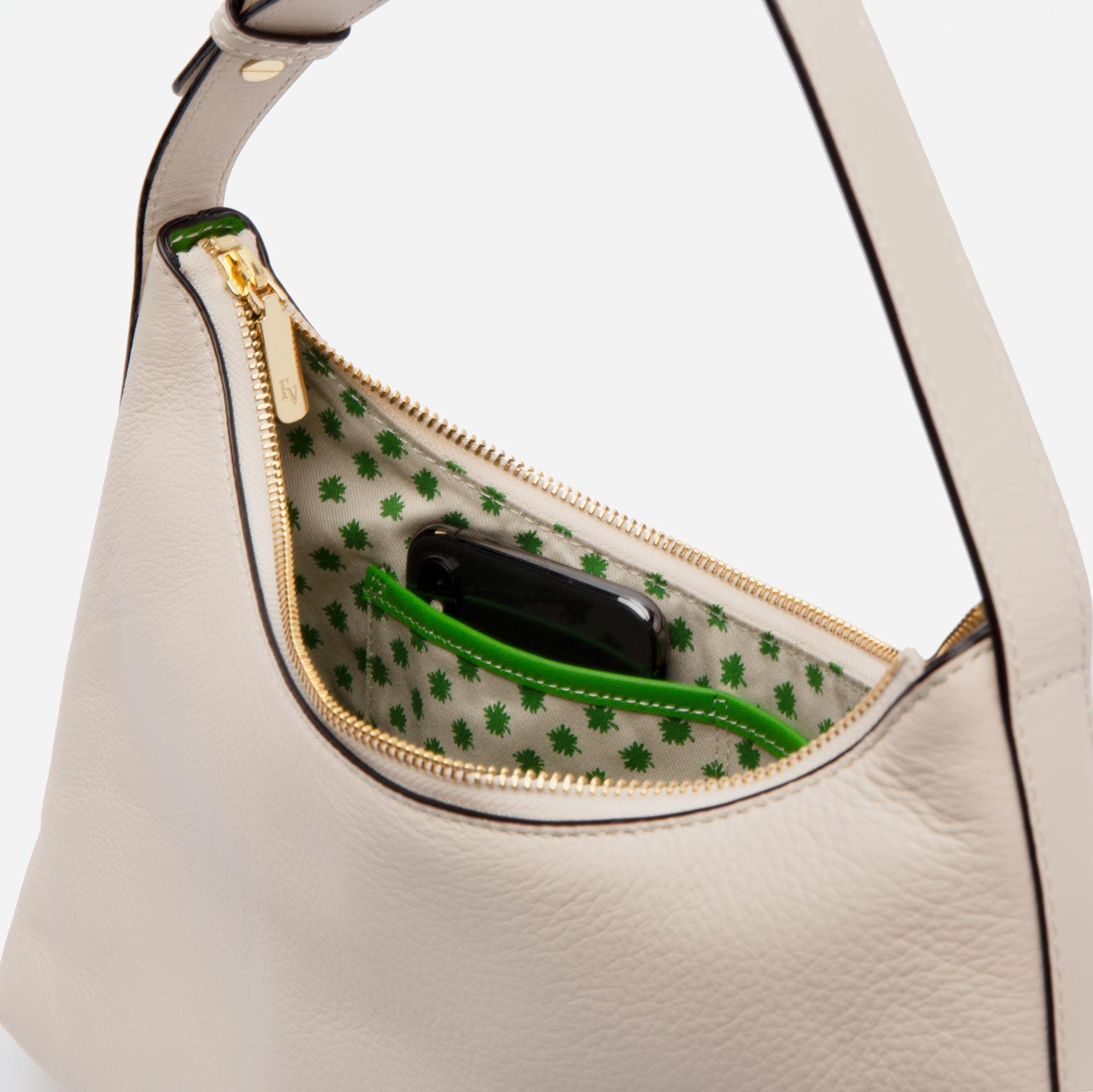 Laura Hobo Tumbled Leather Oyster 4