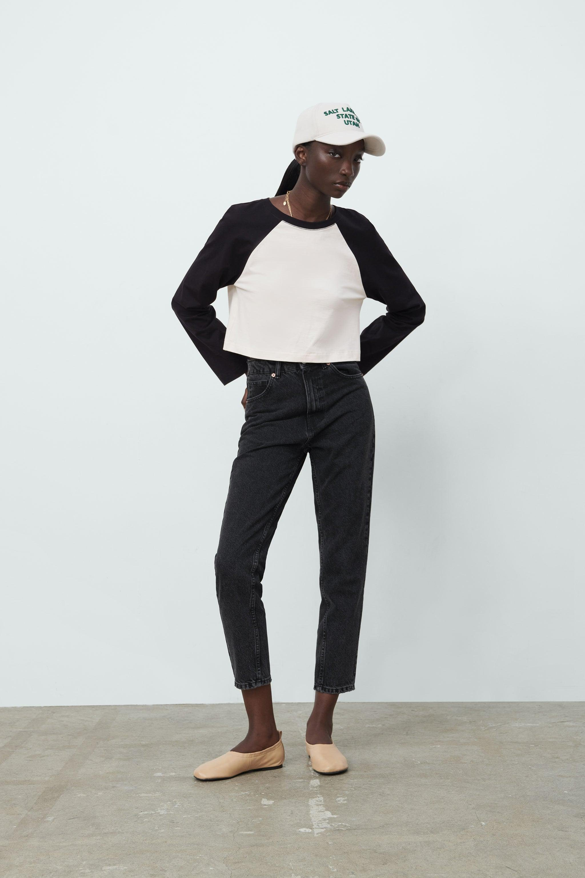 MOM FIT JEANS TRF