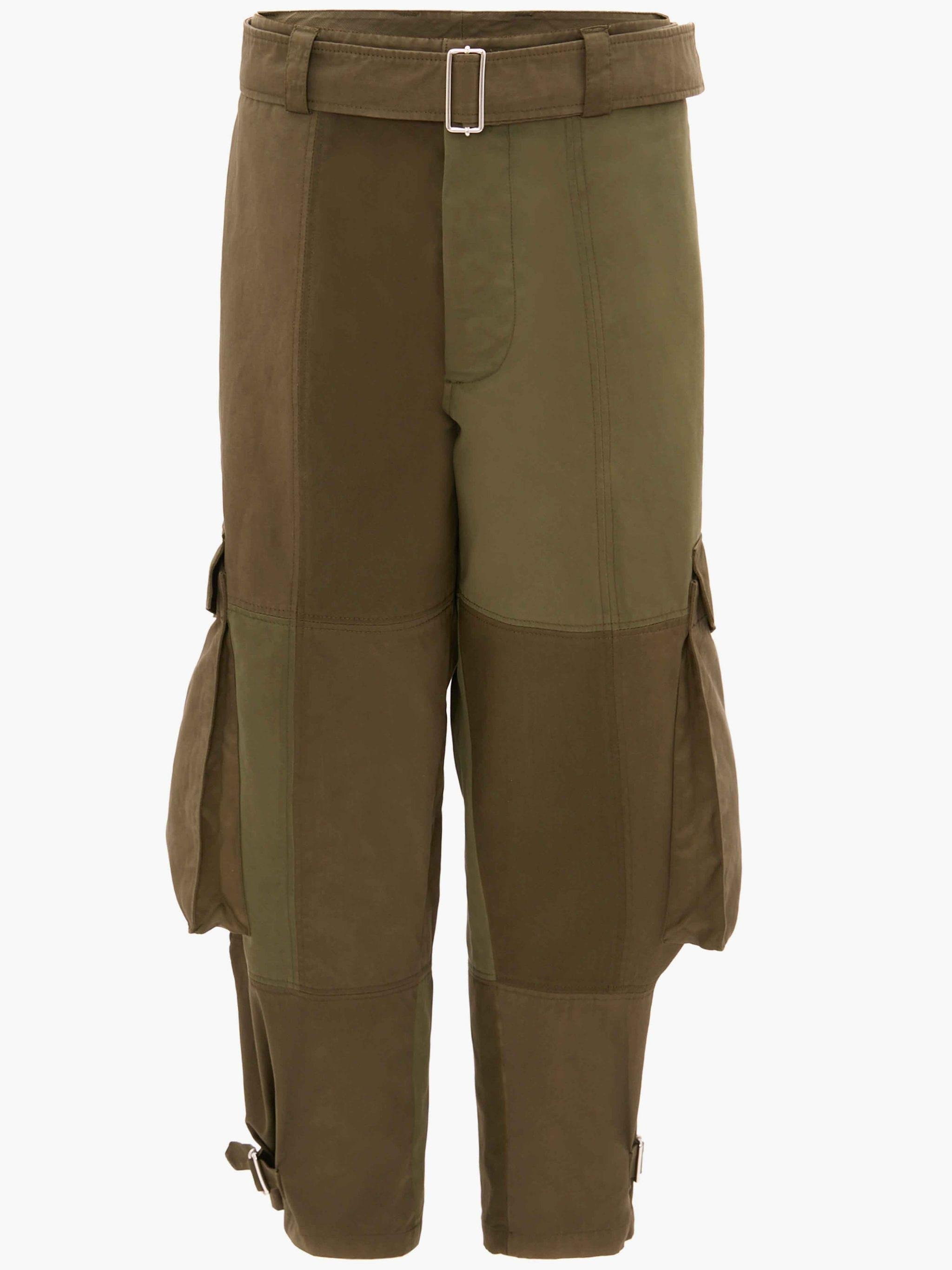 TAPERED CARGO TROUSERS 3