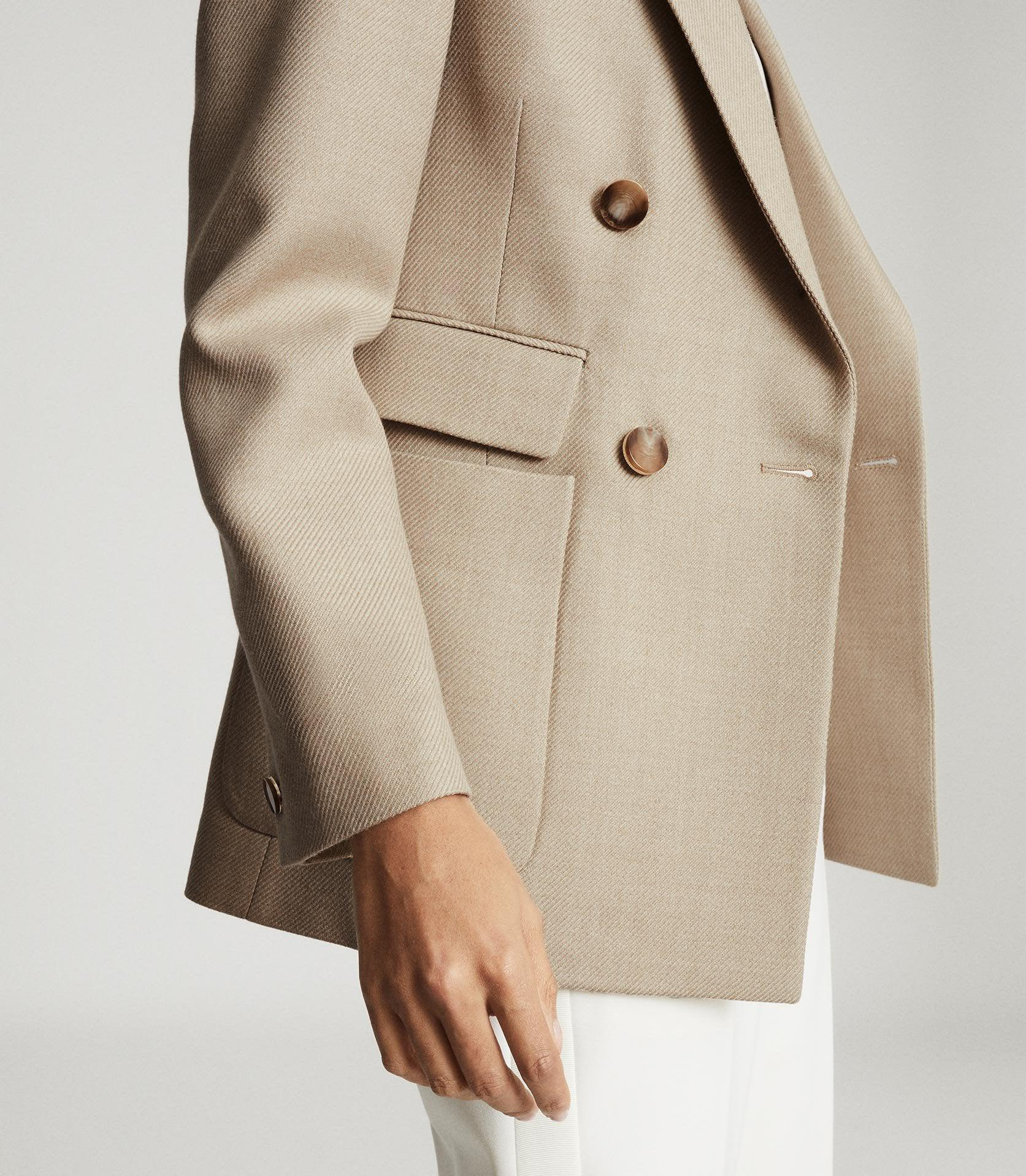 LARSSON - DOUBLE BREASTED TWILL BLAZER 5