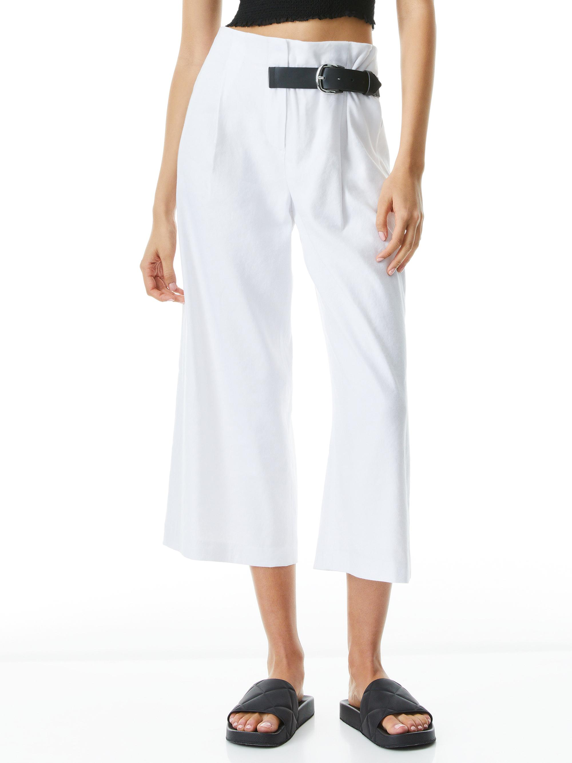 ADELINA BELTED PANT 0