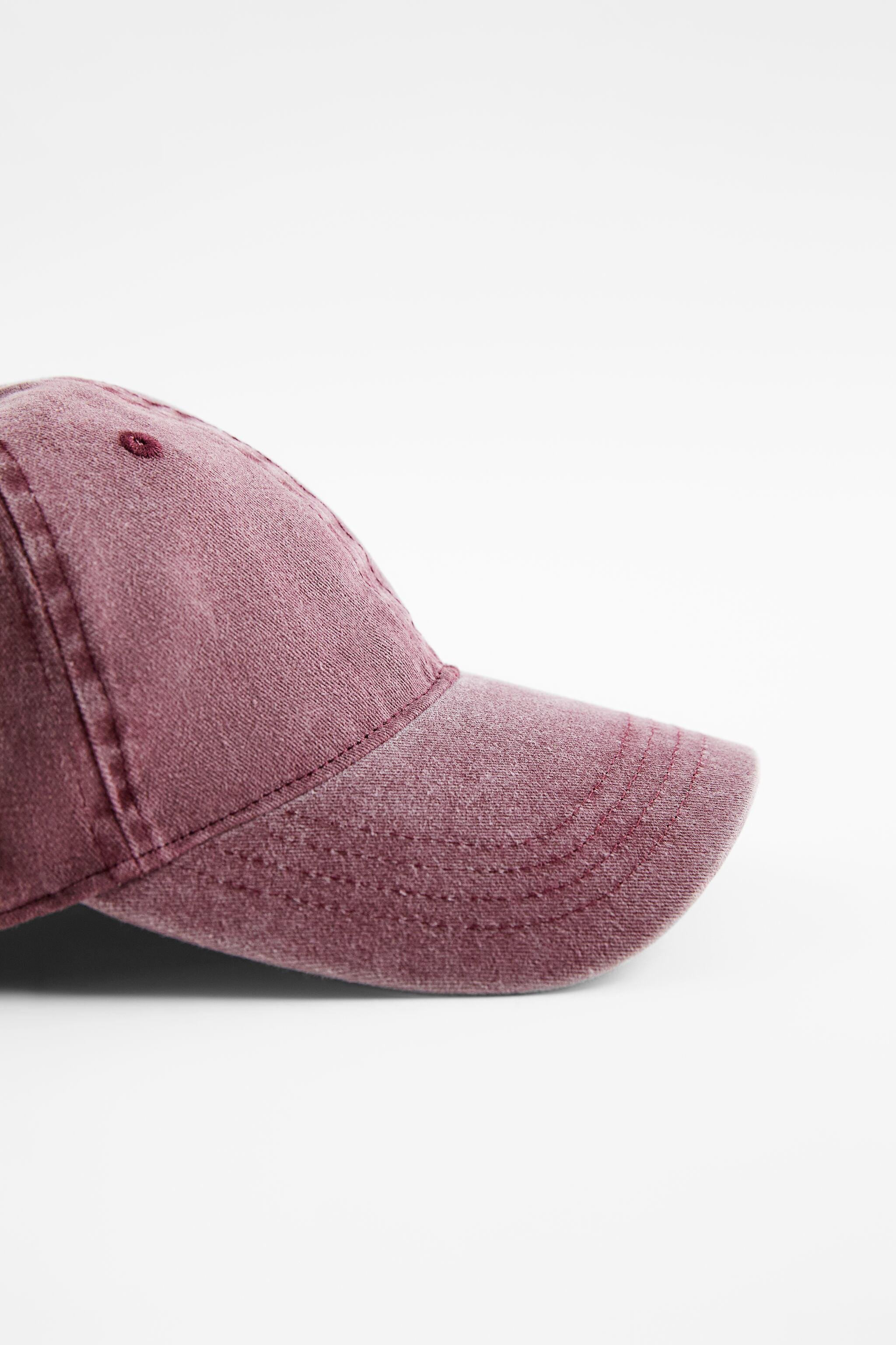 WASHED EFFECT HAT 4