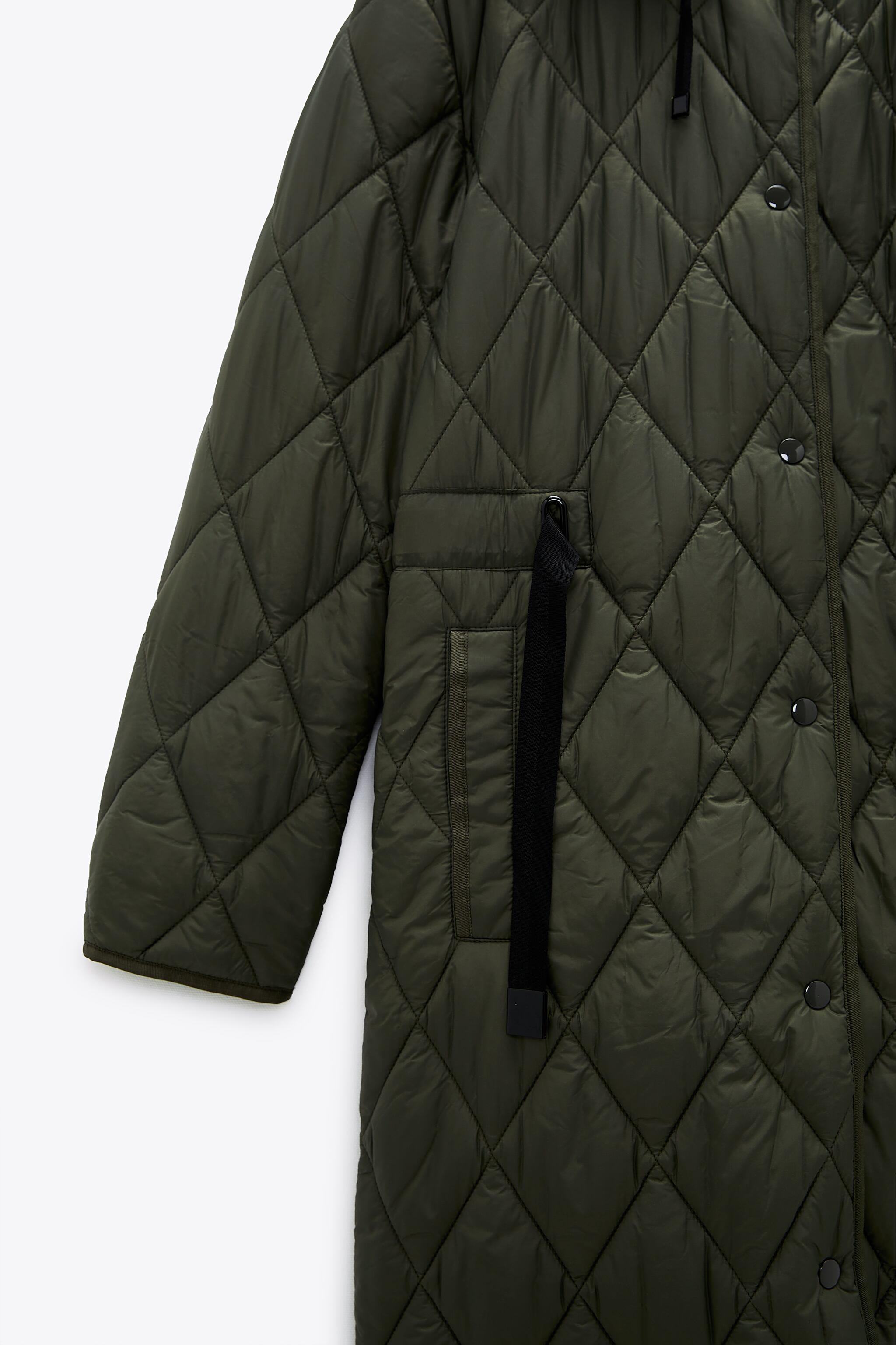 WATER AND WIND PROTECTION PUFFER COAT 8