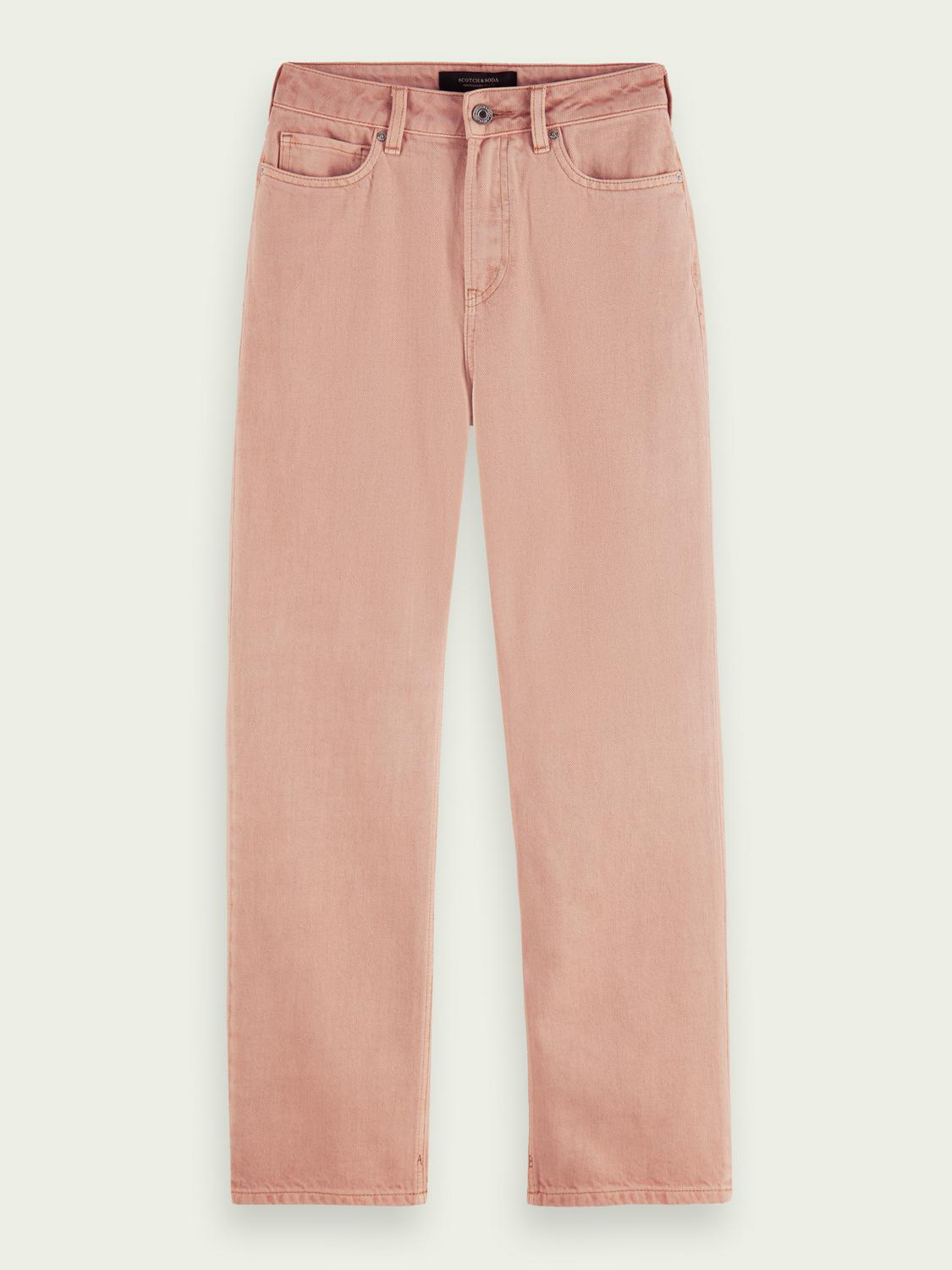 Tailored cotton jeans — Pastel Dyes 5