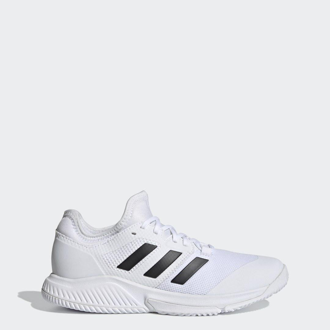 Court Team Bounce Indoor Shoes White 6