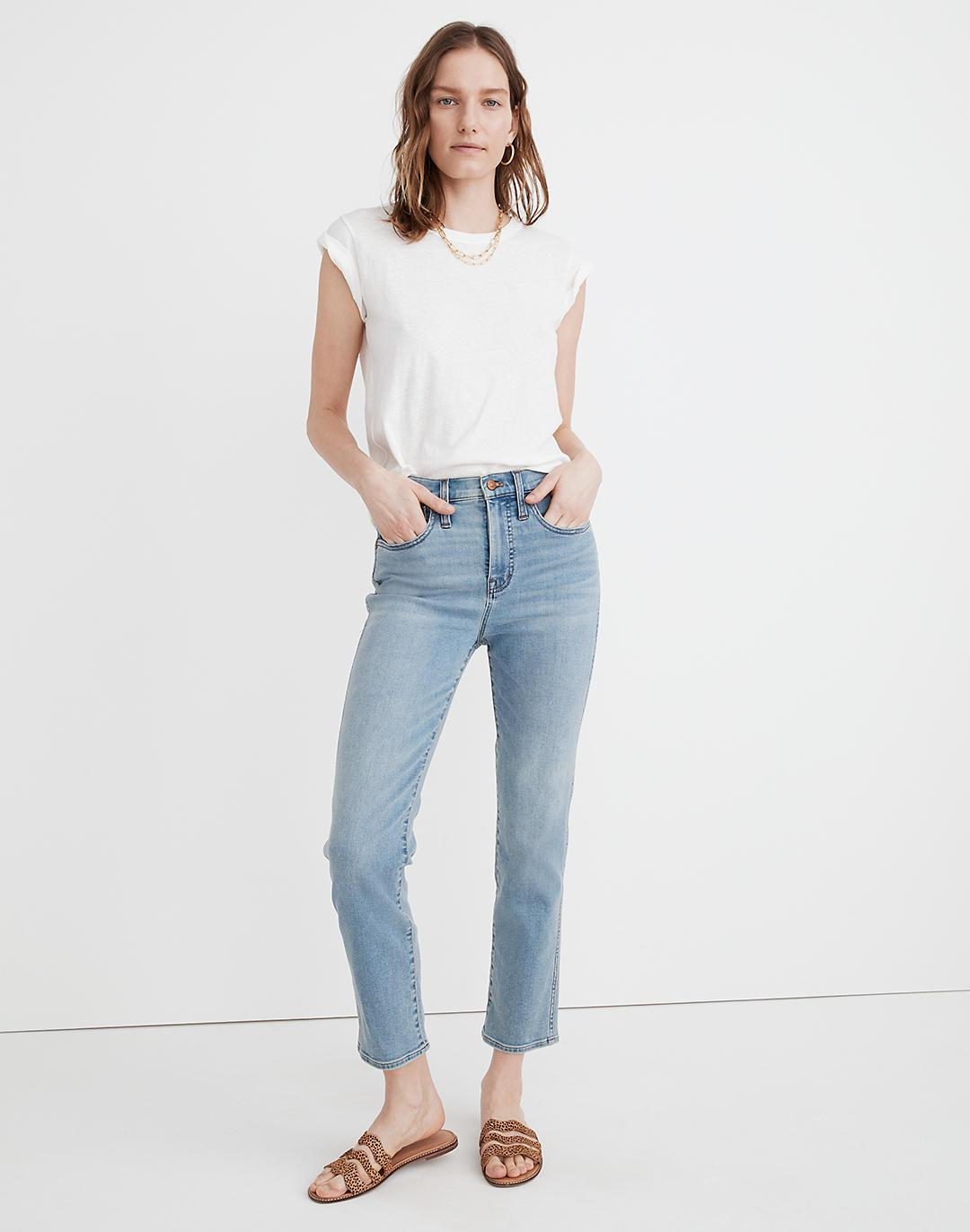 Tall Roadtripper Supersoft Stovepipe Jeans in Plattwood Wash