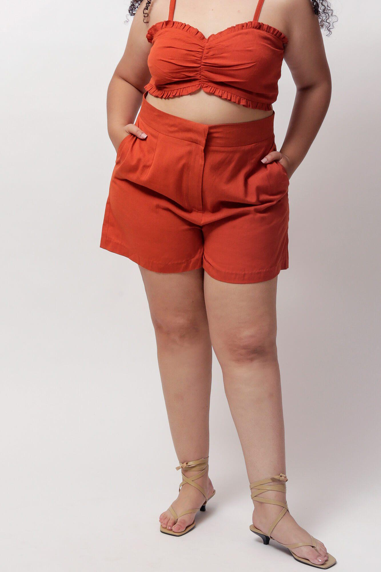 Potter's Clay River High-Waisted Shorts 1