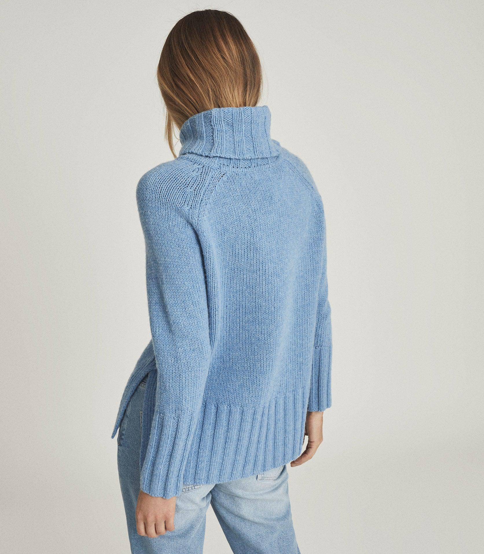 EVE - WOOL CASHMERE BLEND ROLL NECK 3